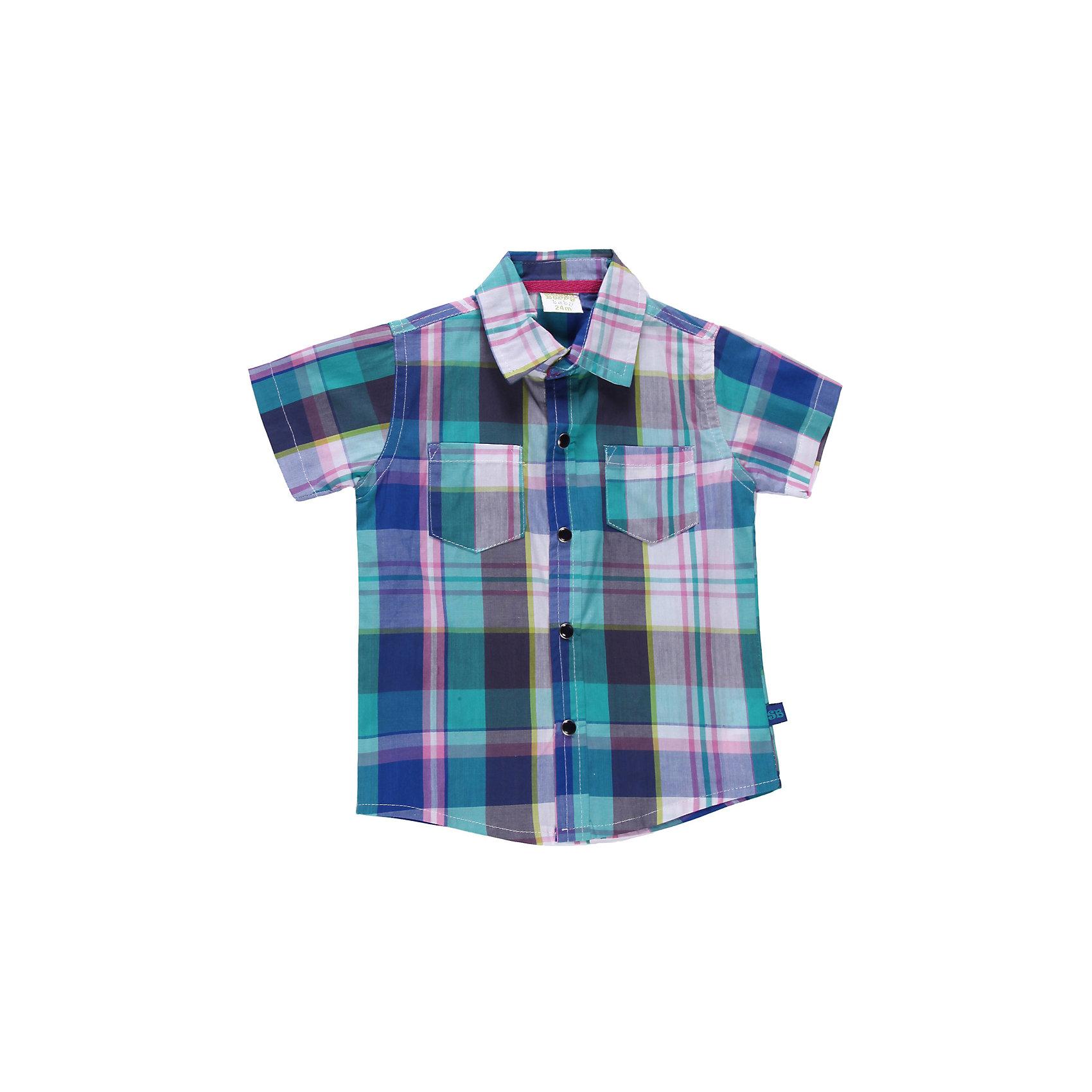 Рубашка для мальчика Sweet BerryБлузки и рубашки<br>Хлопковая рубашка для мальчика. Застежка на планку с пуговицами.<br>Состав:<br>100% хлопок<br><br>Ширина мм: 174<br>Глубина мм: 10<br>Высота мм: 169<br>Вес г: 157<br>Цвет: разноцветный<br>Возраст от месяцев: 9<br>Возраст до месяцев: 12<br>Пол: Мужской<br>Возраст: Детский<br>Размер: 80,86,98,92<br>SKU: 4522497