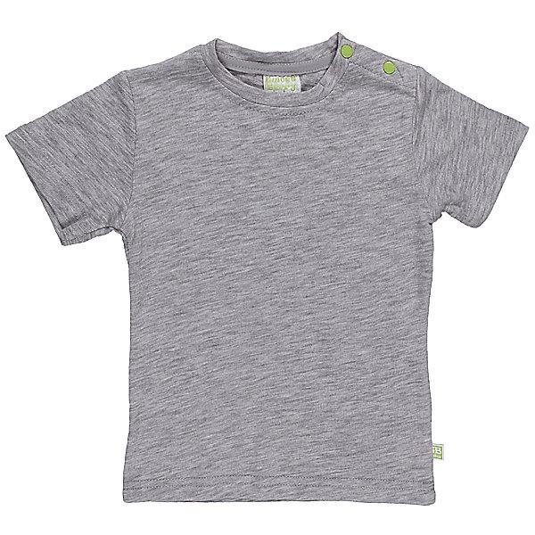 Футболка для мальчика Sweet BerryФутболки, топы<br>Летняя футболка из качественного, мягкого трикотажа для мальчика.<br>Состав:<br>95% хлопок 5% эластан<br>Ширина мм: 199; Глубина мм: 10; Высота мм: 161; Вес г: 151; Цвет: серый; Возраст от месяцев: 9; Возраст до месяцев: 12; Пол: Мужской; Возраст: Детский; Размер: 80,98,86,92; SKU: 4522532;