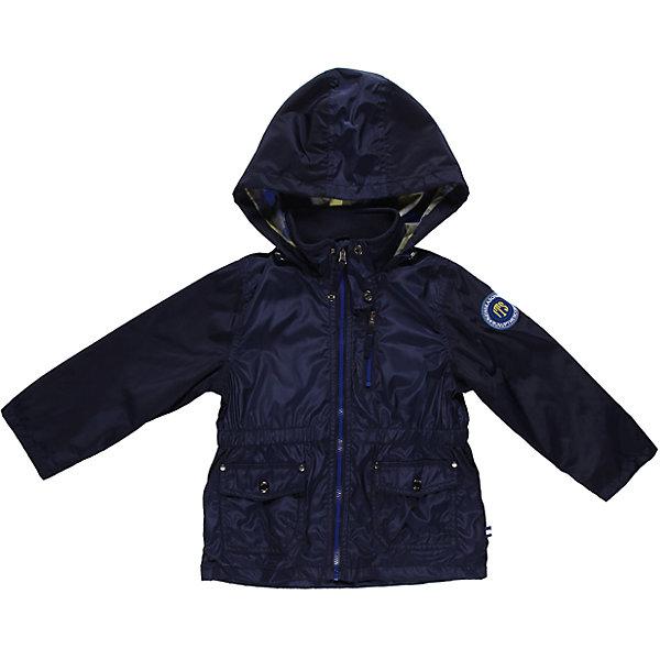 Куртка для мальчика Sweet BerryДемисезонные куртки<br>Куртка для мальчика с хлопковой подкладкой. Внутри утяжка по талии.<br>Состав:<br>Верх: 100% полиэстер, Подкладка: 65% хлопок, 35% полиэстер<br><br>Ширина мм: 356<br>Глубина мм: 10<br>Высота мм: 245<br>Вес г: 519<br>Цвет: синий<br>Возраст от месяцев: 24<br>Возраст до месяцев: 36<br>Пол: Мужской<br>Возраст: Детский<br>Размер: 98,110,104,122,128,116<br>SKU: 4522691