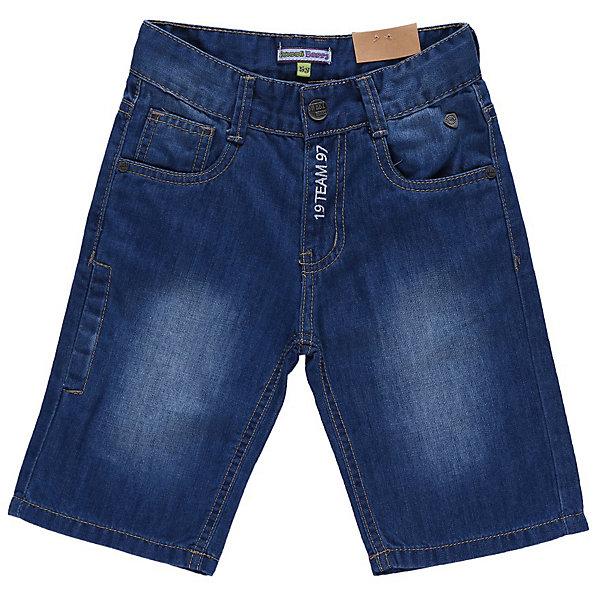 Бриджи джинсовые для мальчика Sweet BerryДжинсовая одежда<br>Джинсовые бриджи с вышивкой на гульфике и одним карманом сзади.<br>Состав:<br>100% хлопок<br>Ширина мм: 191; Глубина мм: 10; Высота мм: 175; Вес г: 273; Цвет: синий; Возраст от месяцев: 24; Возраст до месяцев: 36; Пол: Мужской; Возраст: Детский; Размер: 98,104,122,128,110,116; SKU: 4522817;