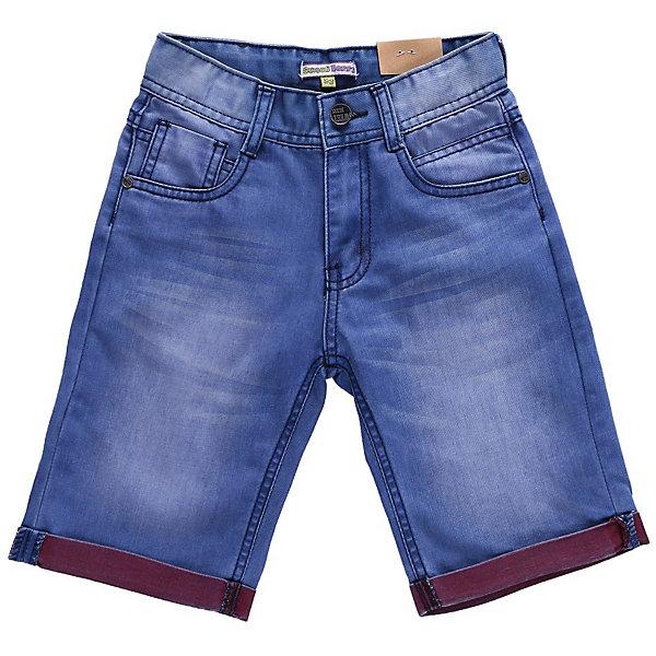 Бриджи джинсовые для мальчика Sweet BerryШорты, бриджи, капри<br>Бриджи джинсовые с яркими отворотами.<br>Состав:<br>100% хлопок<br><br>Ширина мм: 191<br>Глубина мм: 10<br>Высота мм: 175<br>Вес г: 273<br>Цвет: синий<br>Возраст от месяцев: 24<br>Возраст до месяцев: 36<br>Пол: Мужской<br>Возраст: Детский<br>Размер: 98,128,104,110,116,122<br>SKU: 4522912