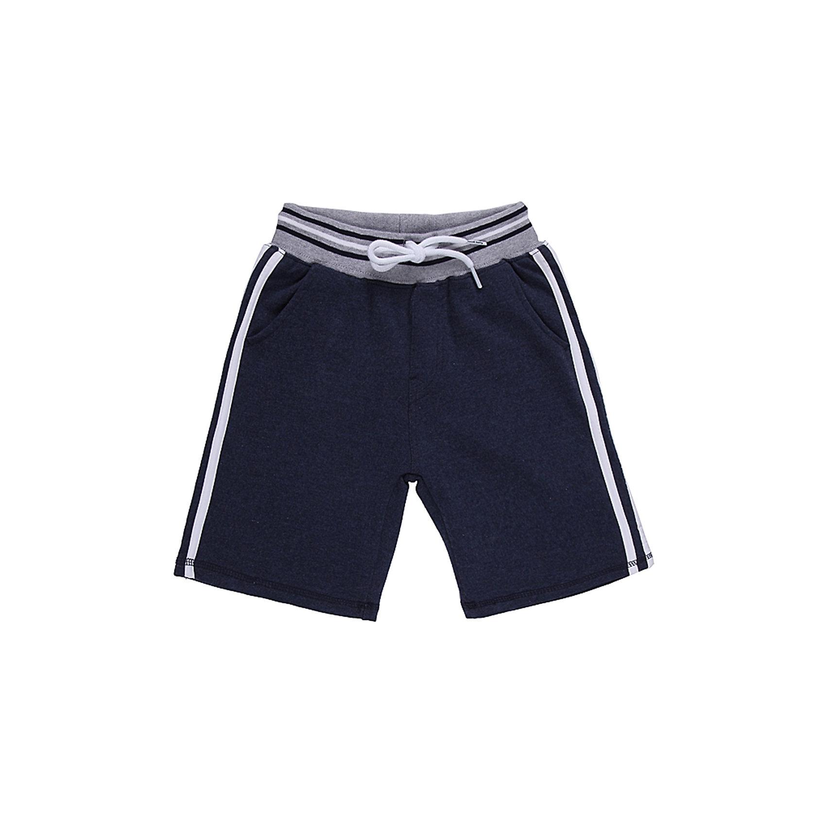 Бриджи для мальчика Sweet BerryТрикотажные шорты для мальчика, красивого синего цвета с контрастными вставками. Пояс с внутренней резинкой и дополнительным хлопковым шнурком.<br>Состав:<br>95% хлопок 5% эластан<br><br>Ширина мм: 191<br>Глубина мм: 10<br>Высота мм: 175<br>Вес г: 273<br>Цвет: синий/белый<br>Возраст от месяцев: 24<br>Возраст до месяцев: 36<br>Пол: Мужской<br>Возраст: Детский<br>Размер: 98,128,116,110,122,104<br>SKU: 4522919