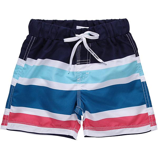 Шорты-плавки для мальчика Sweet BerryКупальники и плавки<br>Пляжные шорты из принтованной ткани. Эластичный пояс на резинке, регулируется шнурком<br>Состав:<br>100% полиэстер<br>Ширина мм: 183; Глубина мм: 60; Высота мм: 135; Вес г: 119; Цвет: белый; Возраст от месяцев: 108; Возраст до месяцев: 120; Пол: Мужской; Возраст: Детский; Размер: 98,104,110,128,116,122,140; SKU: 4522995;