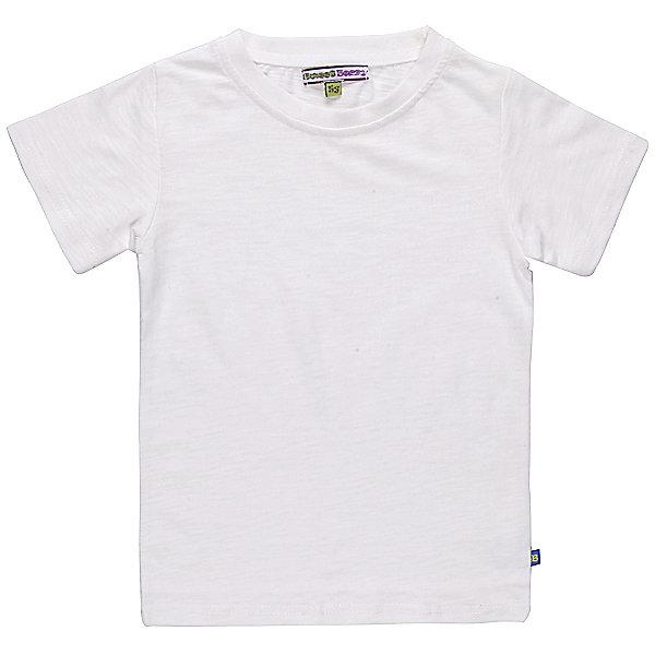Футболка для мальчика Sweet BerryФутболки, поло и топы<br>Летняя футболка из качественного, мягкого трикотажа для мальчика.<br>Состав:<br>95% хлопок 5% эластан<br><br>Ширина мм: 199<br>Глубина мм: 10<br>Высота мм: 161<br>Вес г: 151<br>Цвет: белый<br>Возраст от месяцев: 24<br>Возраст до месяцев: 36<br>Пол: Мужской<br>Возраст: Детский<br>Размер: 98,128,104,116,110,122<br>SKU: 4523118