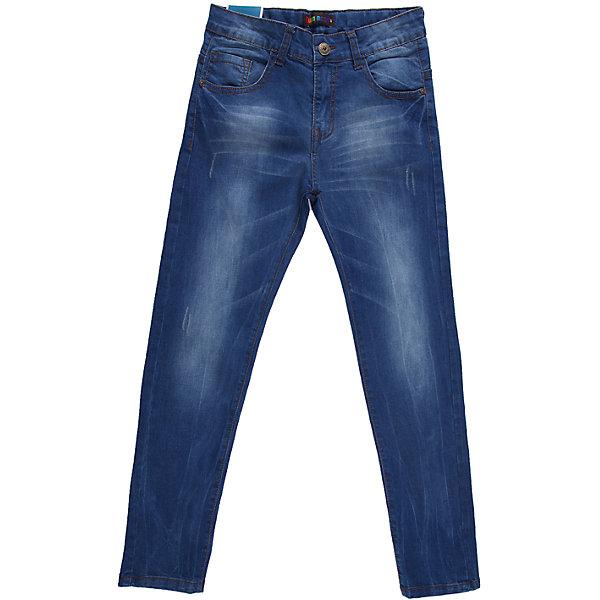 Джинсы для мальчика LuminosoДжинсы<br>Удобные джинсы на каждый день.  Четыре функциональных кармана, пояс регулируется внутренней резинкой.<br>Состав:<br>98% хлопок 2%эластан<br>Ширина мм: 215; Глубина мм: 88; Высота мм: 191; Вес г: 336; Цвет: синий; Возраст от месяцев: 144; Возраст до месяцев: 156; Пол: Мужской; Возраст: Детский; Размер: 158,140,146,152,164,134; SKU: 4523258;