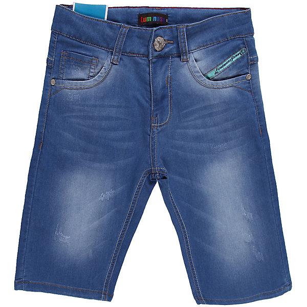 Бриджи джинсовые для мальчика LuminosoШорты, бриджи, капри<br>Стильные джинсовые шорты на мальчика, четыре кармана, отличный вариант на каждый день, декорированы потертостями.<br>Состав:<br>98% хлопок 2%эластан<br><br>Ширина мм: 191<br>Глубина мм: 10<br>Высота мм: 175<br>Вес г: 273<br>Цвет: синий<br>Возраст от месяцев: 156<br>Возраст до месяцев: 168<br>Пол: Мужской<br>Возраст: Детский<br>Размер: 164,146,140,152,158,134<br>SKU: 4523265