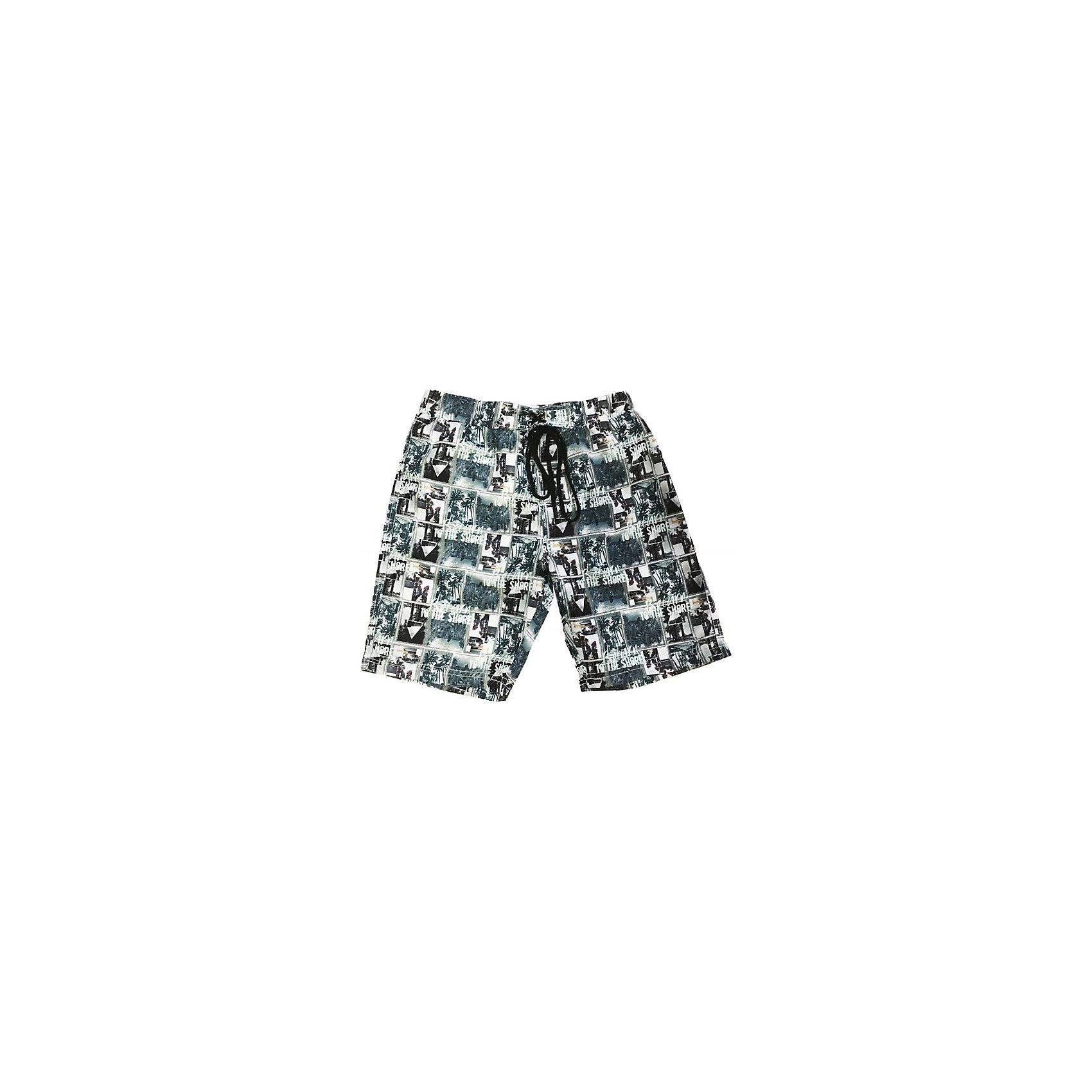 Шорты купальные для мальчика LuminosoШорты, бриджи, капри<br>Пляжные шорты из принтованной ткани. Эластичный пояс на резинке, регулируется шнурком<br>Состав:<br>100% полиэстер<br><br>Ширина мм: 183<br>Глубина мм: 60<br>Высота мм: 135<br>Вес г: 119<br>Цвет: серый<br>Возраст от месяцев: 96<br>Возраст до месяцев: 108<br>Пол: Мужской<br>Возраст: Детский<br>Размер: 134,146,140,152,164,158<br>SKU: 4523321
