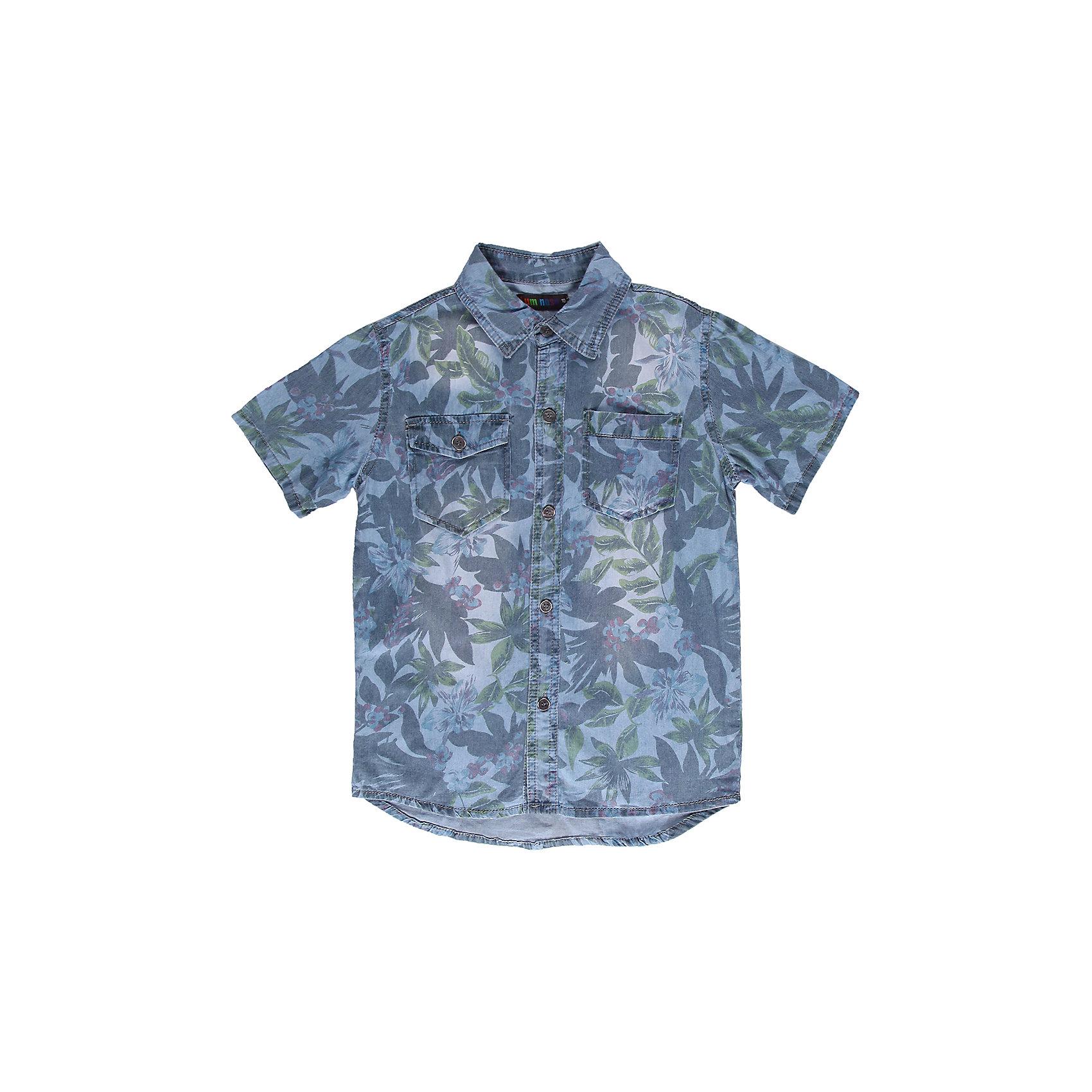 Рубашка для мальчика LuminosoДжинсовая рубашка с коротким рукавом.<br>Состав:<br>100% хлопок<br><br>Ширина мм: 174<br>Глубина мм: 10<br>Высота мм: 169<br>Вес г: 157<br>Цвет: голубой<br>Возраст от месяцев: 156<br>Возраст до месяцев: 168<br>Пол: Мужской<br>Возраст: Детский<br>Размер: 164,140,146,152,158,134<br>SKU: 4523356