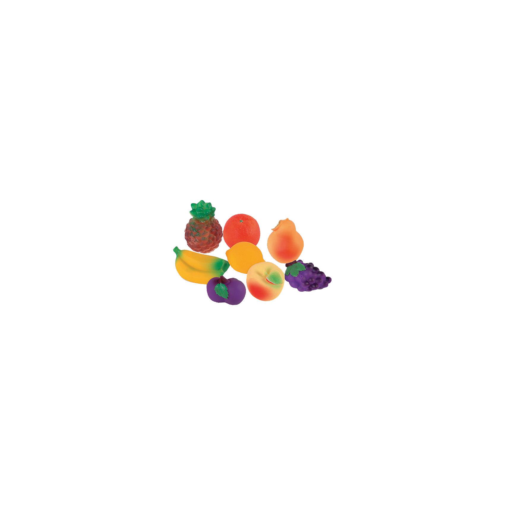 Набор фруктов, ОгонекВсе родители знают, какую важную роль в развитие ребенка играют игрушки из ПВХ, которые многие ошибочно называют «игрушки из резины». Они помогают развивать моторику рук, знакомят с формой, цветом, образами. Раньше, во времена наших родителей, эту роль выполняли резиновые детские игрушки, а теперь можно играть с яркими и безопасными изделиями из ПВХ.<br><br>Ширина мм: 170<br>Глубина мм: 75<br>Высота мм: 95<br>Вес г: 380<br>Возраст от месяцев: 12<br>Возраст до месяцев: 120<br>Пол: Унисекс<br>Возраст: Детский<br>SKU: 4527420