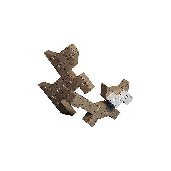 Набор конструктора Базовый Малый, YohocubeМодели из бумаги<br>Картонный конструктор Йохо Куб. Уровень 2 Базовый. Состоит из 45 деталей (30 кубиков, 15 призм)<br>Ширина мм: 430; Глубина мм: 40; Высота мм: 580; Вес г: 1200; Возраст от месяцев: 72; Возраст до месяцев: 144; Пол: Мужской; Возраст: Детский; SKU: 4527458;