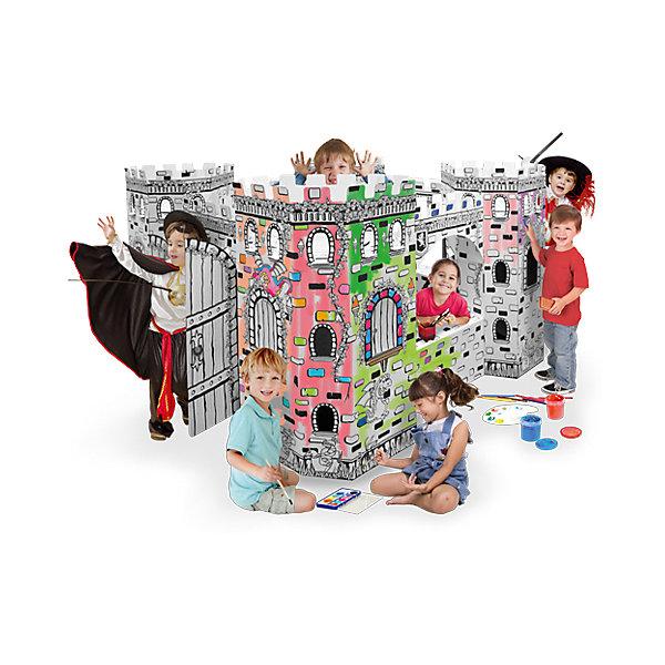 Домик из картона Крепость, CartonHouseНаборы для раскрашивания<br>Домики из картона предназначены для развития детей и создания атмосферы собственного уютного уголка в Вашем доме. Как правило, дети используют его как тайное место. Там живут их игрушки. Домик становится местом их уединения и спокойствия.<br><br>Ширина мм: 1168<br>Глубина мм: 613<br>Высота мм: 102<br>Вес г: 10000<br>Возраст от месяцев: 36<br>Возраст до месяцев: 96<br>Пол: Унисекс<br>Возраст: Детский<br>SKU: 4527463