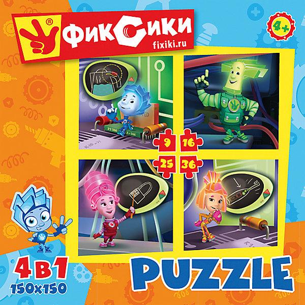 Набор из 4 пазлов Фиксики 9-16-25-36, OrigamiФиксики<br>Набор из четырех пазлов  Фиксики порадует всех поклонников известного детского мультсериала. Пазл за пазлом ребёнок  будет узнавать о весёлых приключениях Фиксиков, они расскажут много интересного  и познавательного. Играя, ребёнок будет развивать свою кругозор, тренировать мелкую моторику, развивать внимание и усидчивость. <br><br>Дополнительная информация:<br><br>- Материал: картон.<br>- Размер пазла: 15х15 см.<br>- 4 пазла в наборе. <br><br>Набор из 4 пазлов Фиксики 9-16-25-36, Origami (Оригами), можно купить в нашем магазине.<br><br>Ширина мм: 180<br>Глубина мм: 50<br>Высота мм: 180<br>Вес г: 180<br>Возраст от месяцев: 36<br>Возраст до месяцев: 96<br>Пол: Унисекс<br>Возраст: Детский<br>Количество деталей: 9<br>SKU: 4532003