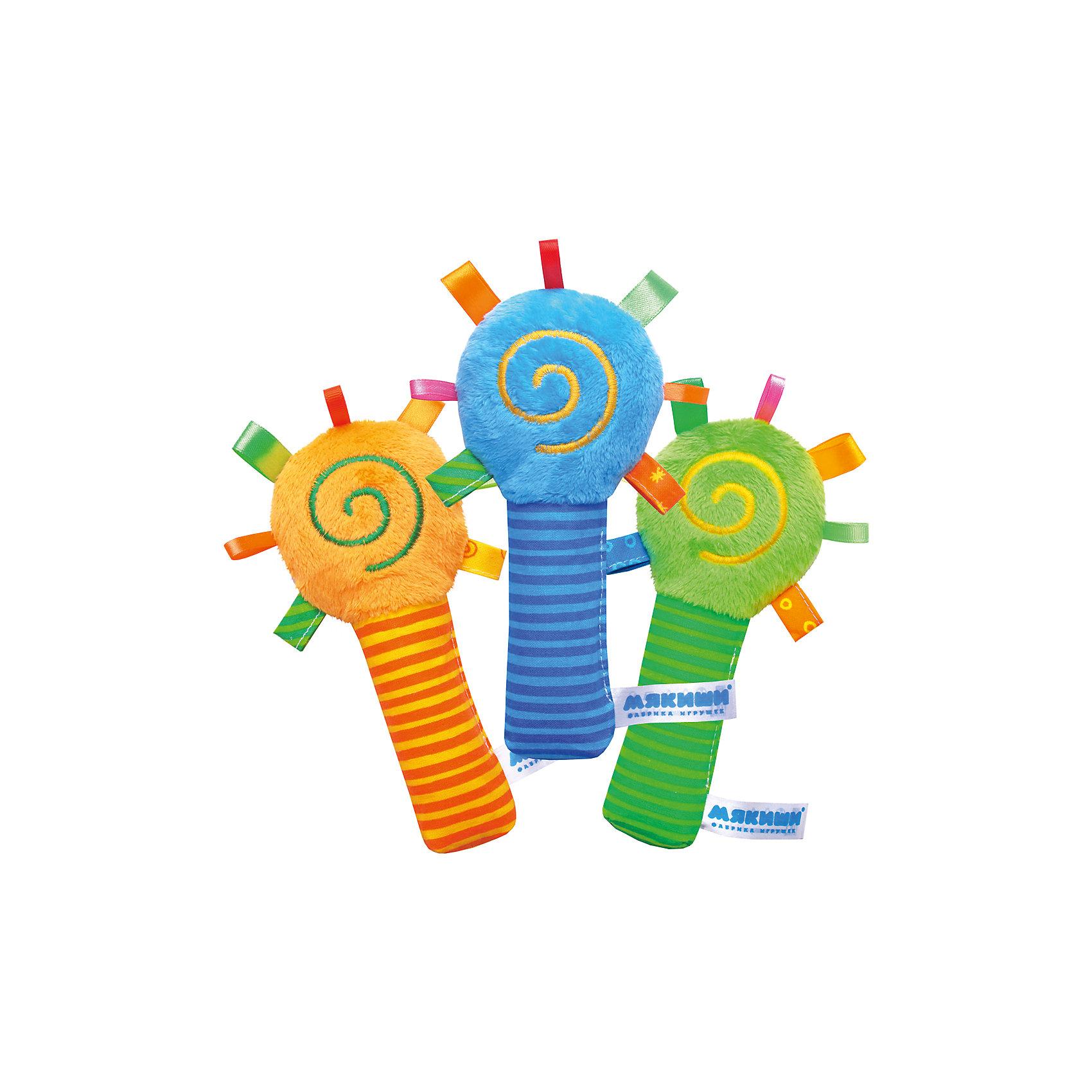Игрушка ШуМякиши. Маракас, МякишиРазвивающие игрушки<br>Мягкие ШуМякиши - это самые первые игрушки для малышей. Маракас сделан из разнофактурных материалов. Игрушка стимулирует тактильные навыки ребенка, работу зрительных и слуховых рецепторов. Развивает мелкую моторику, а яркие насыщенные цвета привлекают внимание. Эргономичная форма,  яркость, разнофактурные материалы, звуковые элементы способствуют двигательной и эмоциональной активности ребенка, формируют хватательный рефлекс и, конечно, дарят хорошее настроение. В производстве игрушки использованы только высококачественные гипоаллергенные материалы безопасные для детей. <br><br>Дополнительная информация:<br><br>- Материал: мех, хлопок 100%.<br>- Размер :17 х 8 см.<br>- Погремушка внутри.<br>- Хрустящая ручка.<br>- Цветные петельки.<br>- Разнофактурные материалы.<br>- Фирменная вышивка.<br>ВНИМАНИЕ! Данный артикул имеется в наличии в разных цветовых исполнениях. К сожалению, заранее выбрать определенный цвет невозможно. При заказе нескольких позиций возможно получение одинаковых.<br><br><br>Игрушку ШуМякиши. Маракас, Мякиши, можно купить в нашем магазине.<br><br>Ширина мм: 190<br>Глубина мм: 90<br>Высота мм: 40<br>Вес г: 100<br>Возраст от месяцев: 12<br>Возраст до месяцев: 36<br>Пол: Унисекс<br>Возраст: Детский<br>SKU: 4532677