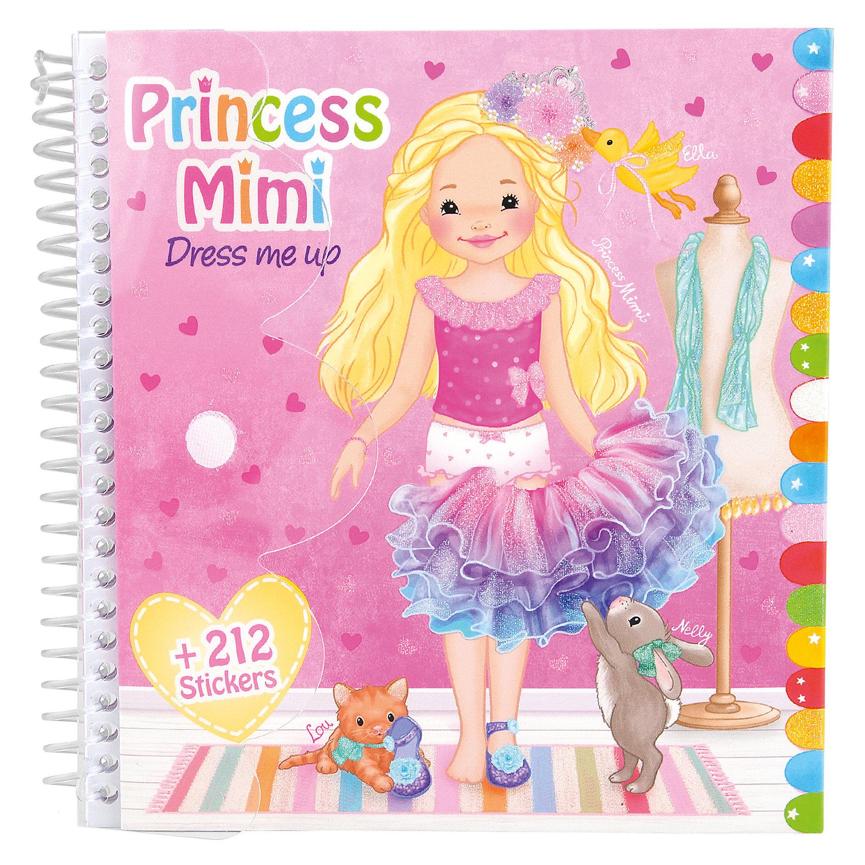 Альбом с наклейками Наряди меня, Princess MimiКнижки с наклейками<br>Альбом с наклейками Наряди меня, Princess Mimi<br><br>Характеристики:<br><br>• Количество страниц: 24 листа<br>• Размер: 16х15,5 см<br>• В комплекте: раскраска, 10 листов наклеек<br><br>Пользуясь этим альбомом, ваш ребенок сможет проявить фантазию и развить свое воображение, наряжая принцессу Мими. В альбоме содержится 24 листа с картинками и 10 листов с наклейками. Большое разнообразие нарядов – от простого наряда, до вечернего, от милых и простых – до нарядных и дорогих.<br><br>Альбом с наклейками Наряди меня, Princess Mimi можно купить в нашем интернет-магазине.<br><br>Ширина мм: 177<br>Глубина мм: 162<br>Высота мм: 20<br>Вес г: 124<br>Возраст от месяцев: 36<br>Возраст до месяцев: 72<br>Пол: Женский<br>Возраст: Детский<br>SKU: 4532713