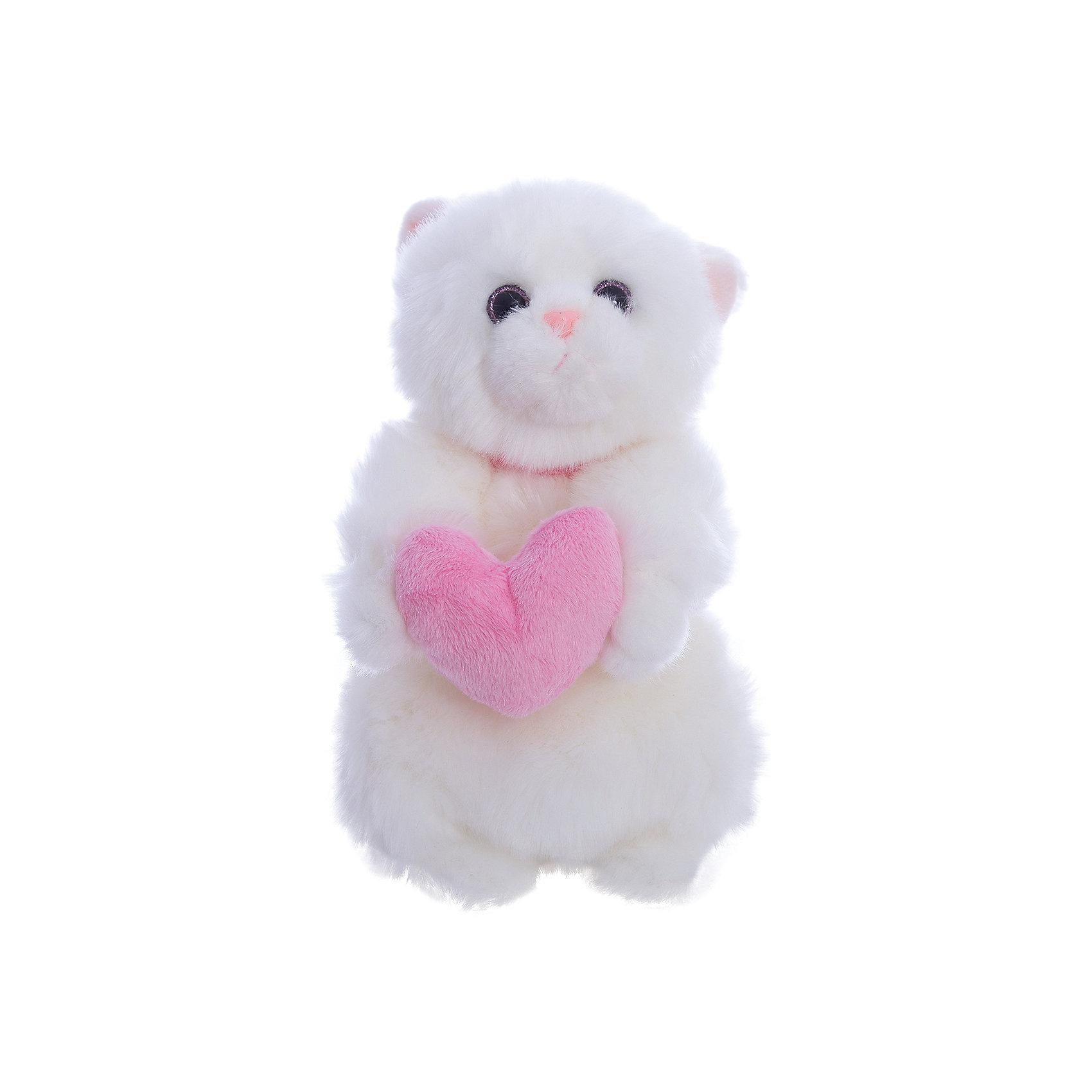 Кошечка Лулу, 20 см с сердечком, Gulliver