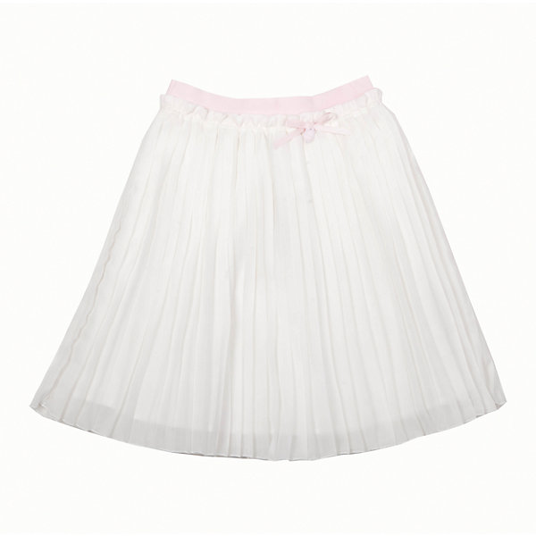 Юбка для девочки GulliverЮбки<br>Роскошная молочная юбка из гофрированного шифона не позволяет пройти мимо! Тонкая, легкая, воздушная, летняя нарядная юбка для девочки на подкладке из хлопка - яркий пример того, какой должна быть модная юбка сезона Весна/Лето 2016. Пояс юбки выполнен из нежной розовой резинки, что очень комфортно для ребенка. В оформлении модели изящная навесная деталь из репсовой ленты с брендированной металлической монеткой.<br>Состав:<br>верх:                        100% полиэстер;       подкл.:                    100% хлопок<br>Ширина мм: 207; Глубина мм: 10; Высота мм: 189; Вес г: 183; Цвет: бежевый; Возраст от месяцев: 132; Возраст до месяцев: 144; Пол: Женский; Возраст: Детский; Размер: 152,134,146,128,140,158; SKU: 4534420;