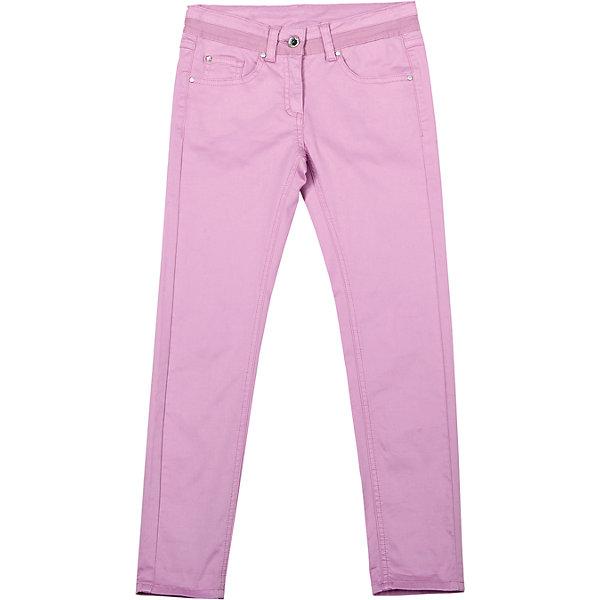 Брюки для девочки GulliverБрюки<br>Цветные узкие брюки - хит сезона Весна-Лето 2016! Выполненные из хлопка с эластаном, брюки идеально садятся на любую фигуру, обеспечивая комфорт в повседневной носке. Розовые брюки для девочки - изделие из разряда must have! Они выглядят нежно, женственно, при этом соответствуют самым актуальным трендам сезона. Если вы решили купить отличные брюки на каждый день, обратите внимание на эти! Они прекрасно гармонируют с любым верхом из коллекции Апрель, создавая красивый благородный образ.<br>Состав:<br>98% хлопок 2% эластан<br><br>Ширина мм: 215<br>Глубина мм: 88<br>Высота мм: 191<br>Вес г: 336<br>Цвет: розовый<br>Возраст от месяцев: 132<br>Возраст до месяцев: 144<br>Пол: Женский<br>Возраст: Детский<br>Размер: 152,134,128,140,146,158<br>SKU: 4534427