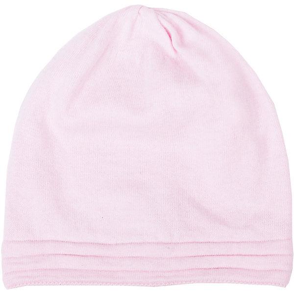 Шапка для девочки GulliverДемисезонные<br>Стильная вязаная шапка отлично дополнит повседневный образ ребенка. Мягкая, легкая, комфортная, она отлично разместится в кармане пальто и пиджака, чтобы в любой момент защитить модницу от непогоды и ветра.<br>Состав:<br>80% хлопок             20% вискоза<br><br>Ширина мм: 89<br>Глубина мм: 117<br>Высота мм: 44<br>Вес г: 155<br>Цвет: светло-розовый<br>Возраст от месяцев: 48<br>Возраст до месяцев: 72<br>Пол: Женский<br>Возраст: Детский<br>Размер: 52-54,54-56<br>SKU: 4534440