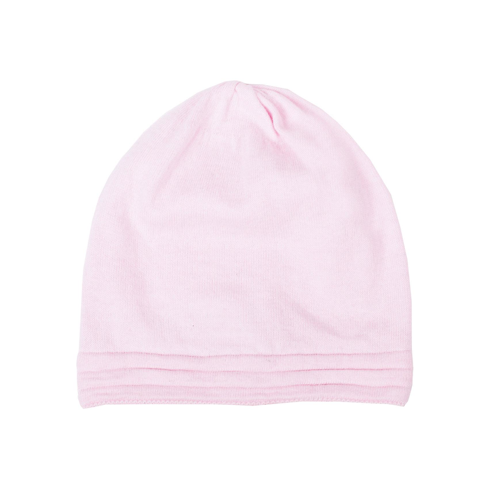 Шапка для девочки GulliverГоловные уборы<br>Стильная вязаная шапка отлично дополнит повседневный образ ребенка. Мягкая, легкая, комфортная, она отлично разместится в кармане пальто и пиджака, чтобы в любой момент защитить модницу от непогоды и ветра.<br>Состав:<br>80% хлопок             20% вискоза<br><br>Ширина мм: 89<br>Глубина мм: 117<br>Высота мм: 44<br>Вес г: 155<br>Цвет: светло-розовый<br>Возраст от месяцев: 48<br>Возраст до месяцев: 72<br>Пол: Женский<br>Возраст: Детский<br>Размер: 52-54,54-56<br>SKU: 4534440