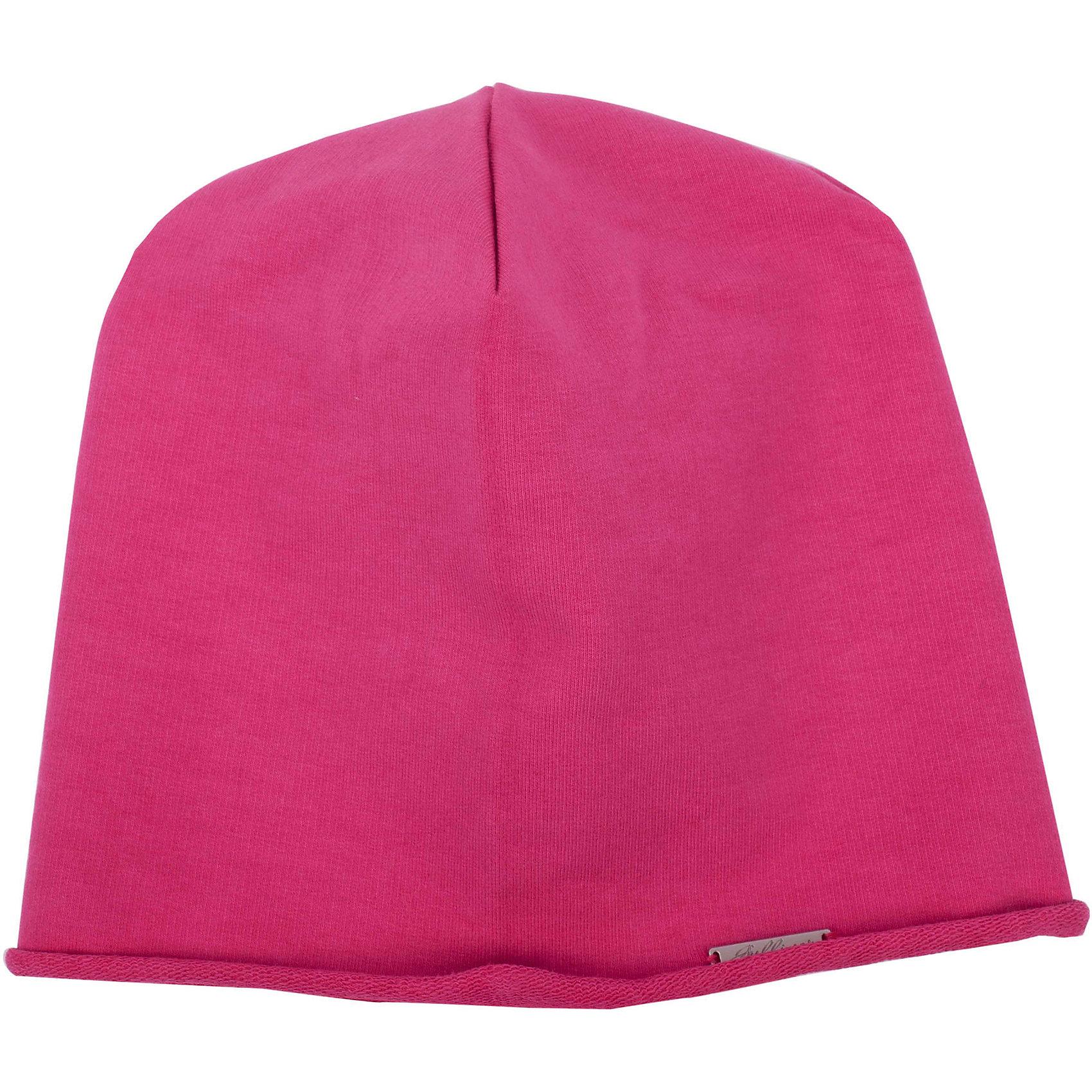 Шапка для девочки GulliverГоловные уборы<br>Трикотажная шапка для девочки - не только незаменимая функциональная вещь весеннего гардероба, но и яркий выразительный элемент образа! Шапка выполнена из яркого вареного футера с модным эффектом неравномерного крашения. В оформлении шапки деликатная фирменная металлическая накладка.<br>Состав:<br>95% хлопок      5% эластан<br><br>Ширина мм: 89<br>Глубина мм: 117<br>Высота мм: 44<br>Вес г: 155<br>Цвет: розовый<br>Возраст от месяцев: 24<br>Возраст до месяцев: 36<br>Пол: Женский<br>Возраст: Детский<br>Размер: 50,52<br>SKU: 4534559