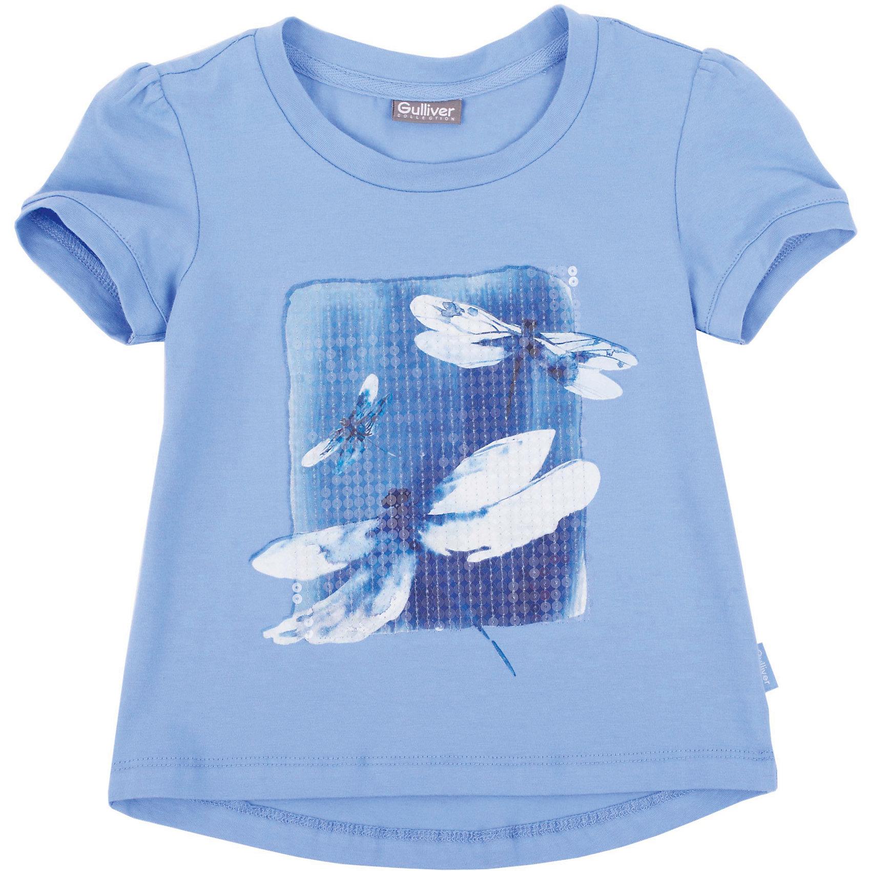 Gulliver Футболка для девочки Gulliver gulliver футболка для девочки gulliver