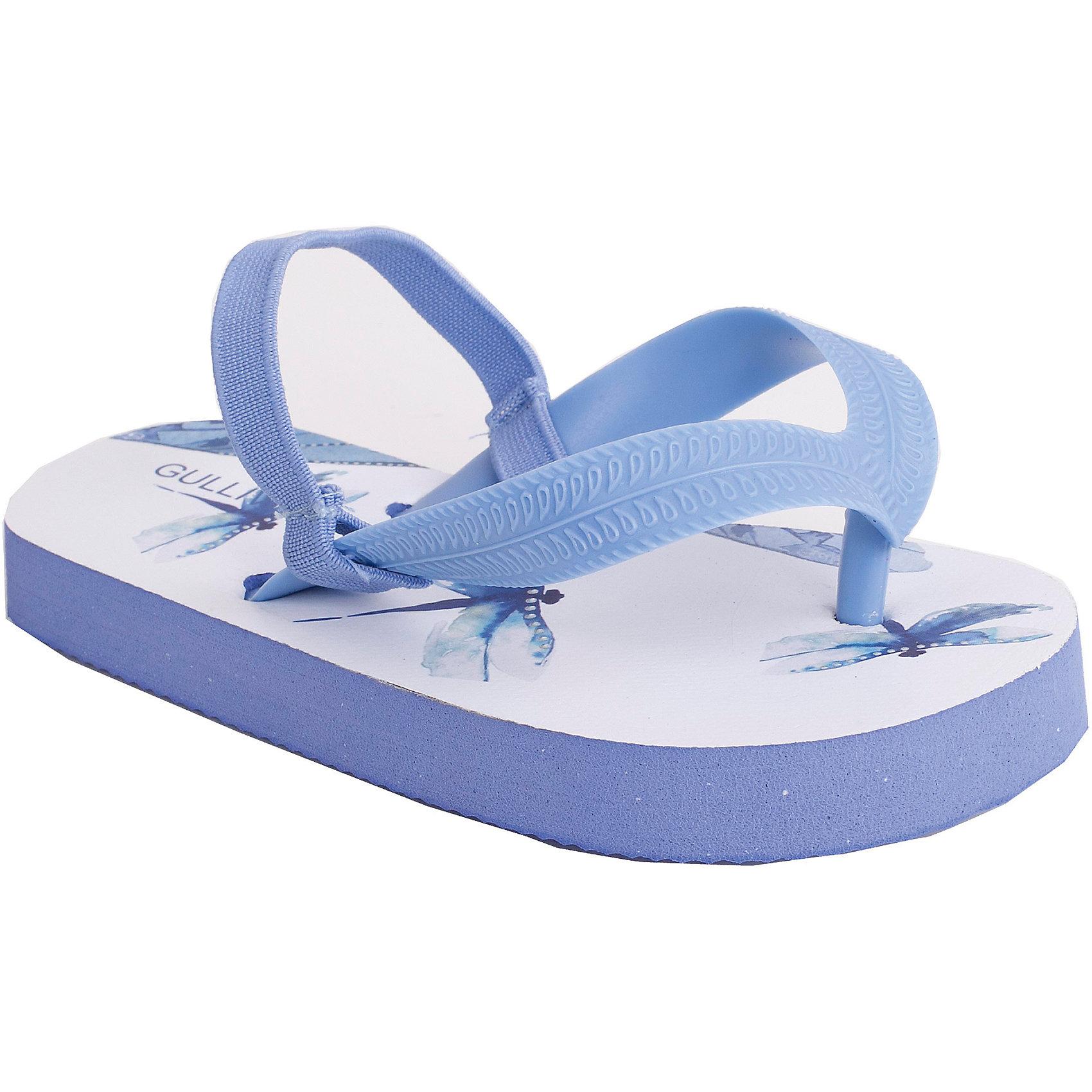 Gulliver Обувь пляжная для девочки Gulliver пляжная обувь mursu пляжная обувь