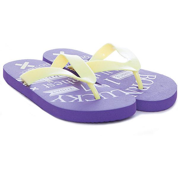 Шлепанцы для девочки GulliverПляжная обувь<br>Пляжная обувь - вещь, совершенно необходимая для отдыха у воды. Мягкие резиновые тапочки-въетнамки для мальчика надежно защитят ногу ребенка от мелкой гальки и горячего песка, а также станут ярким запоминающимся элементом пляжного ансамбля. Если вы решили купить ребенку въетнамки, обратите внимания на эти! Он наверняка оценит яркий цвет модели и оригинальный шрифтовой принт в стиле коллекции Бойскаут.<br>Состав:<br>верх:                              PVC;             подошва:                 EVA<br><br>Ширина мм: 248<br>Глубина мм: 135<br>Высота мм: 147<br>Вес г: 256<br>Цвет: лиловый<br>Возраст от месяцев: 96<br>Возраст до месяцев: 108<br>Пол: Женский<br>Возраст: Детский<br>Размер: 32,30,31,33,34,35<br>SKU: 4534680