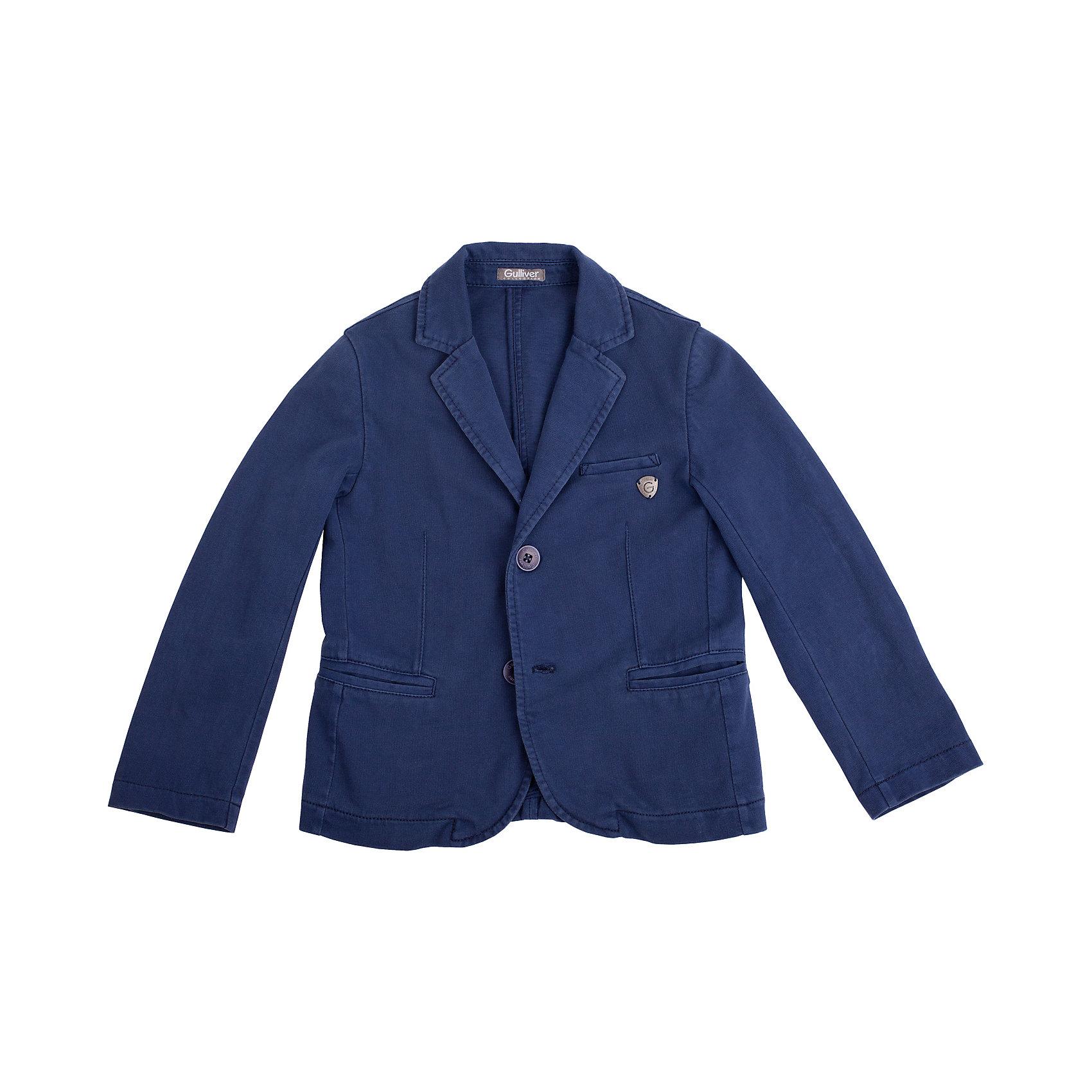Gulliver Пиджак для мальчика Gulliver mabro пиджак