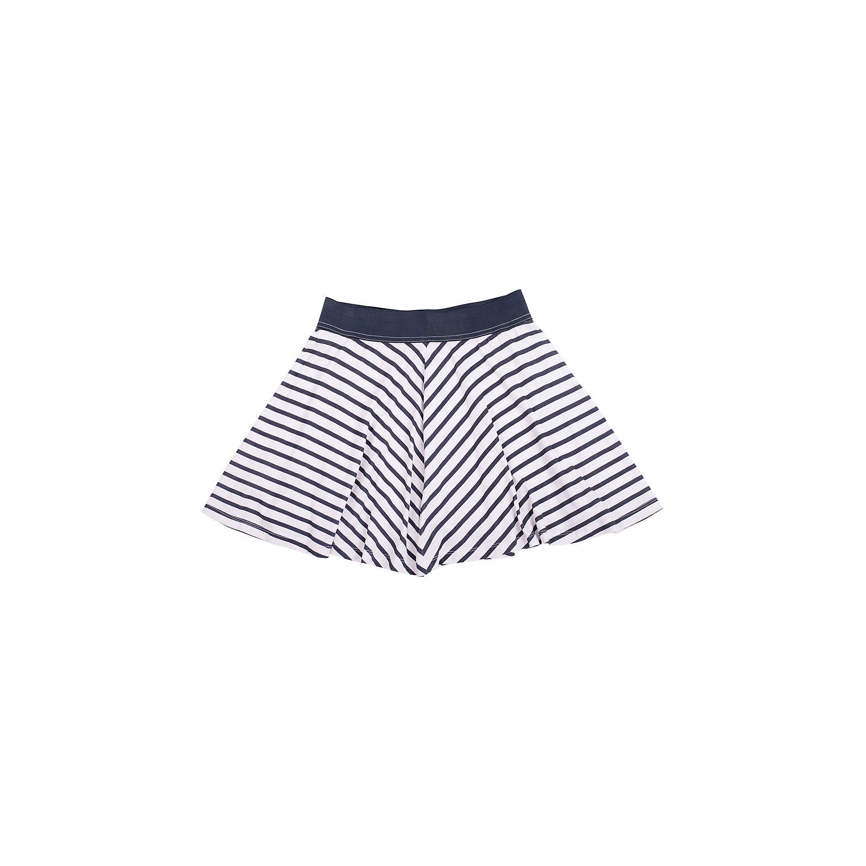 Юбка для девочки GulliverСтильная трикотажная юбка для девочки украсит новый летний гардероб ребенка и придаст ему свежесть и новизну. Сочетание полоски и летящего трапециевидного силуэта модели солнце делает юбку очень необычной, острой, интересной. Трикотажная юбка на резинке - удобное, комфортное решение на каждый день. С топом, майкой, футболкой юбка создаст отличный комплект в спортивном стиле - динамичный и интересный!<br>Состав:<br>47,5% модал 47,5% бамбук  5% эластан<br><br>Ширина мм: 207<br>Глубина мм: 10<br>Высота мм: 189<br>Вес г: 183<br>Цвет: разноцветный<br>Возраст от месяцев: 72<br>Возраст до месяцев: 84<br>Пол: Женский<br>Возраст: Детский<br>Размер: 122,128,140,134<br>SKU: 4534887