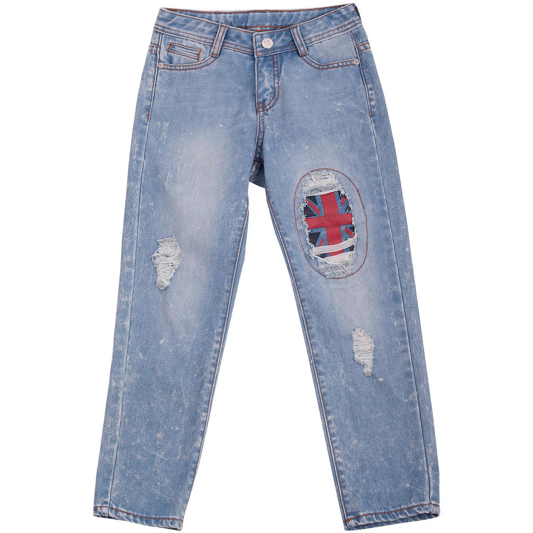 Джинсы для девочки GulliverДжинсовая одежда<br>Школьный сезон позади и пора составлять летний гардероб ребенка. Джинсы бойфренд для девочки - вещь совершенно необходимая! Они подарят 100% комфорт и сделают образ актуальным и свежим. Джинсы бойфренд с эффектными декоративными заплатками будут лучшим подарком для девочки-модницы. Если вы решили купить джинсы, остановите свой выбор на этой модели! Хит сезона Весна/Лето 2016 джинсы бойфренд с интересными повреждениями - лучший выбор для стильных детей современных родителей!<br>Состав:<br>100% хлопок<br><br>Ширина мм: 215<br>Глубина мм: 88<br>Высота мм: 191<br>Вес г: 336<br>Цвет: голубой<br>Возраст от месяцев: 108<br>Возраст до месяцев: 120<br>Пол: Женский<br>Возраст: Детский<br>Размер: 140,134,128,122<br>SKU: 4534892