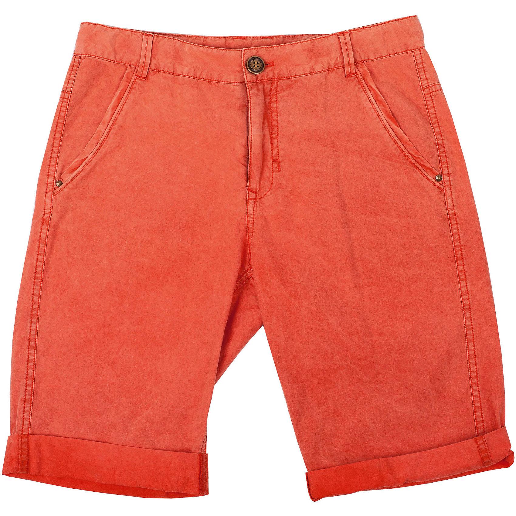 Шорты для мальчика GulliverЯркие шорты для мальчика - хит сезона Весна/Лето 2016. Модный цвет, специальная варка изделия, создающая эффект легкой потертости, состаренности изделия, интересный удобный крой делают эту модель незаменимым атрибутом модного подросткового гардероба. Вы хотите купить стильные комфортные шорты на каждый день? Модель, выполненная из мягкого цветного текстиля - оптимальное решение для практичного летнего гардероба стильного активного мальчика.<br>Состав:<br>100% хлопок<br><br>Ширина мм: 191<br>Глубина мм: 10<br>Высота мм: 175<br>Вес г: 273<br>Цвет: оранжевый<br>Возраст от месяцев: 144<br>Возраст до месяцев: 156<br>Пол: Мужской<br>Возраст: Детский<br>Размер: 158,164,146,152<br>SKU: 4535113
