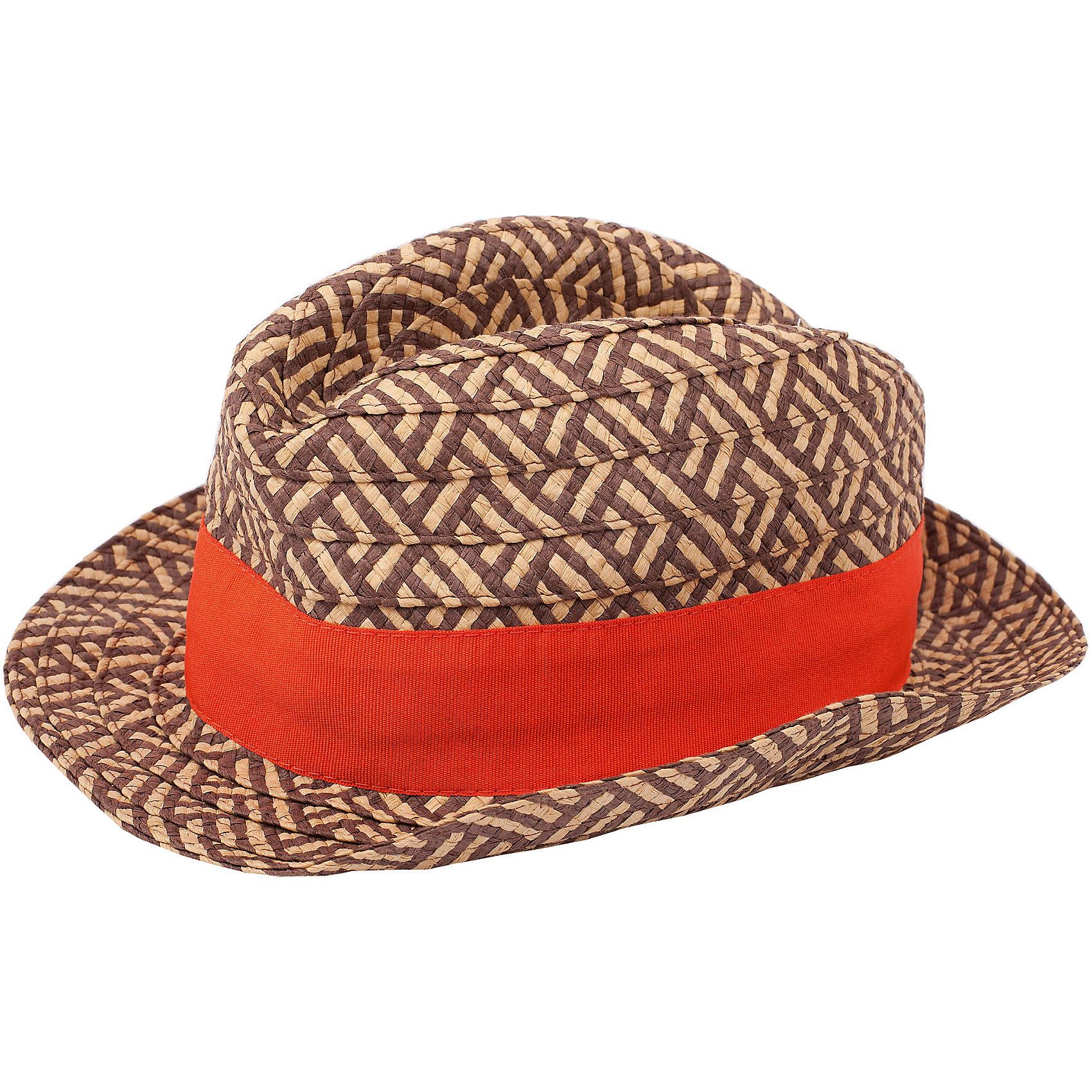 Шляпа для мальчика GulliverГоловные уборы<br>Шляпа для  мальчика-подростка - модный аксессуар и предмет особой гордости, способный подчеркнуть его индивидуальность. Если вы хотите купить шляпу, обратите внимание на эту модель! Шляпа вызывает восторг взрослых, одобрение сверстников и массу положительных эмоций окружающих.<br>Состав:<br>80% бумага , 20%полиестер<br><br>Ширина мм: 89<br>Глубина мм: 117<br>Высота мм: 44<br>Вес г: 155<br>Цвет: разноцветный<br>Возраст от месяцев: 72<br>Возраст до месяцев: 84<br>Пол: Мужской<br>Возраст: Детский<br>Размер: 54<br>SKU: 4535126