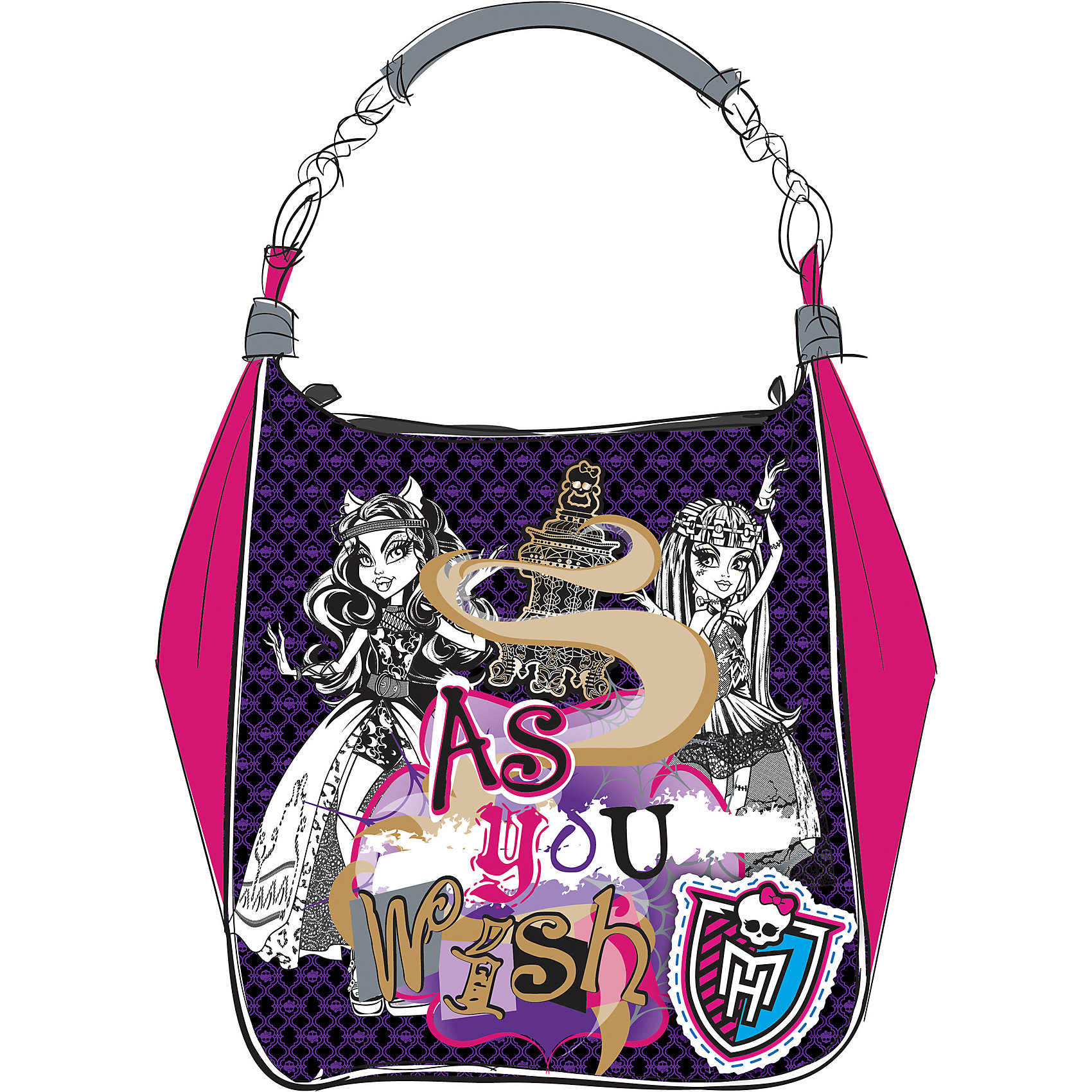 CENTRUM Сумка  Мonster High centrum сумка monster high 27 24 3 см