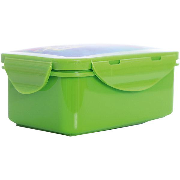 Бутербродница Губка Боб 16*10 см, зеленыйДетская посуда<br>Зеленая бутербродница Губка Боб 16*10 см – замечательно подойдет для школьных завтраков, и будет незаменима в путешествиях.<br>Яркая прямоугольная бутербродница Губка Боб с 3D изображением Губки Боба и Патрика порадует Вашего ребенка и Вам не придется уговаривать его взять еду с собой. В ней можно хранить и переносить бутерброды, салаты и закуски. Бутербродница изготовлена из безопасного пищевого пластика, плотно закрывается крышкой с зажимом. Она удобная и компактная, поэтому не займет много места в сумке или рюкзаке.<br><br>Дополнительная информация:<br><br>- Размер: 16 х 10 см.<br>- Материал: пластик<br>- Цвет: зеленый<br>- Размер упаковки: 16х10х6 см.<br><br>Зеленую бутербродницу Губка Боб 16*10 см можно купить в нашем интернет-магазине.<br><br>Ширина мм: 160<br>Глубина мм: 100<br>Высота мм: 60<br>Вес г: 100<br>Возраст от месяцев: 36<br>Возраст до месяцев: 108<br>Пол: Унисекс<br>Возраст: Детский<br>SKU: 4536219