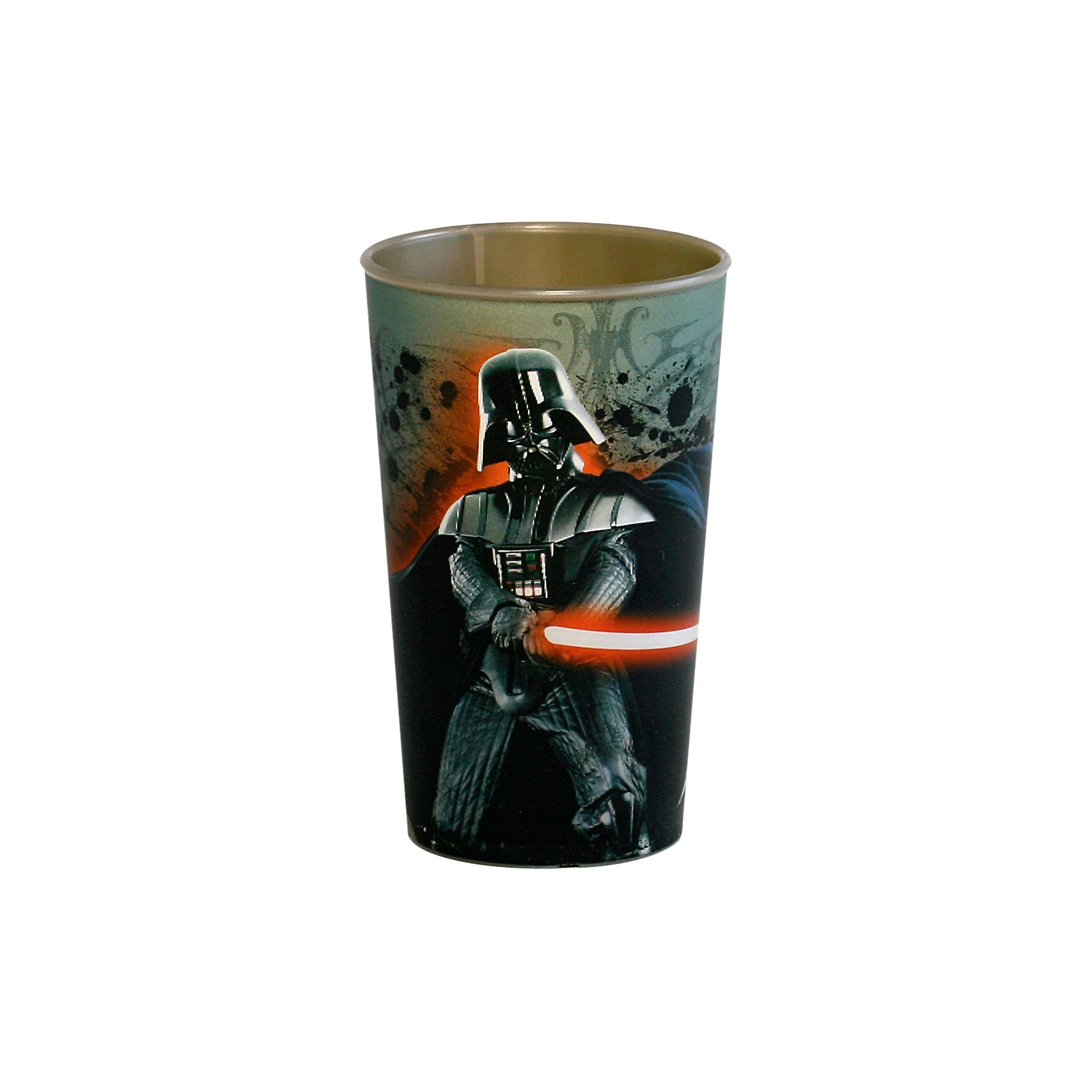 Стакан Дарт Вейдер 260 мл, Звездные войныПосуда<br>Стакан Звездные войны 260 мл, в ассортименте – это отличный подарок для фаната вселенной Star Wars.<br>Стакан Звездные войны изготовлен из полипропилена. Специальное покрытие с отливом делает изображение на стакане более объемным. Не подходит для использования в посудомоечной машине и СВЧ-печи.<br><br>Дополнительная информация:<br>- Дизайны в ассортименте: Дарт Вейдер, робот R2D2, магистр Йода.<br>- Объем: 260 мл.<br>- Высота: 9,5 см.<br>- Материал: полипропилен<br>- Размер упаковки: 7 х 7 х 11 см.<br>- Вес: 30 гр.<br><br>Стакан Звездные войны 260 мл можно купить в нашем интернет-магазине.<br><br>Ширина мм: 70<br>Глубина мм: 70<br>Высота мм: 110<br>Вес г: 30<br>Возраст от месяцев: 36<br>Возраст до месяцев: 144<br>Пол: Унисекс<br>Возраст: Детский<br>SKU: 4536243