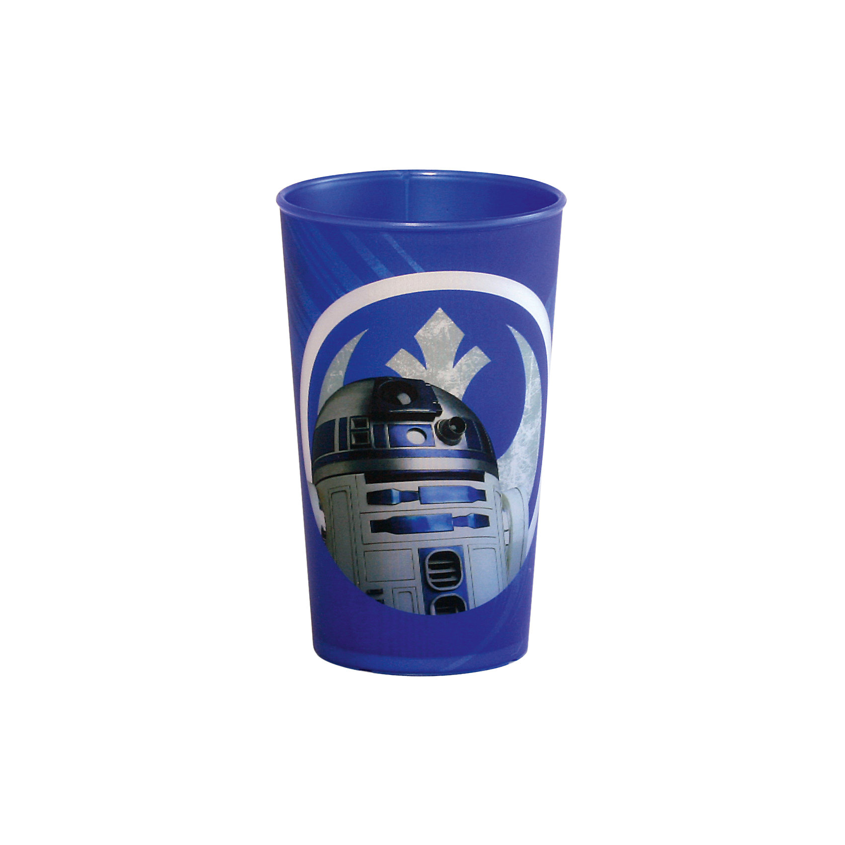 Стакан Звездные войны 260 мл, синийЗвездные войны<br>Синий стакан Звездные войны 260 мл – это отличный подарок для фаната вселенной Star Wars.<br>Стакан Звездные войны изготовлен из полипропилена и оформлен рисунком с изображением дроида R2D2. Специальное покрытие с отливом делает изображение на стакане более объемным. Не подходит для использования в посудомоечной машине и СВЧ-печи.<br><br>Дополнительная информация:<br><br>- Объем: 260 мл.<br>- Высота: 9,5 см.<br>- Цвет: синий<br>- Материал: полипропилен<br>- Размер упаковки: 7 х 7 х 11 см.<br>- Вес: 30 гр.<br><br>Синий стакан Звездные войны 260 мл можно купить в нашем интернет-магазине.<br><br>Ширина мм: 70<br>Глубина мм: 70<br>Высота мм: 110<br>Вес г: 30<br>Возраст от месяцев: 36<br>Возраст до месяцев: 144<br>Пол: Унисекс<br>Возраст: Детский<br>SKU: 4536245