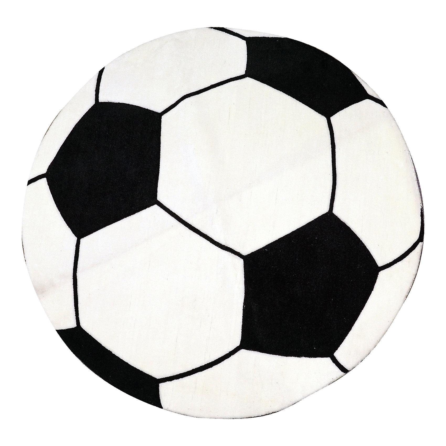 Ковер Мяч, диаметр 1,2 мЯркий ковер, выполненный в виде футбольного мяча, прекрасно впишется в интерьер детской и приведет в восторг любого ребенка. Ковер изготовлен из акриловой пряжи, он очень мягкий на ощупь, гипоаллергенный, легко чистится, мало весит, прекрасно сохраняет тепло. Края изделия аккуратно и надежно обработаны. Подложка выполнена из текстильного материала - полихлопка (хлопок и полиэстер в соотношении 80/20). Полихлопок обладает высокой степенью износостойкости и в то же время достаточно мягок, чтобы не наносить повреждения на ламинированные и паркетные полы.<br><br>Дополнительная информация:<br><br>- Материал: акрил, полихлопок. <br>- Размер: d - 1,2.<br>- Цвет: черный, белый. <br>- Отличная теплопроводность. <br>- Антистатичность. <br>- Цветостойкость: долго сохраняет яркость цвета. <br><br>Ковер Мяч, диаметр 1,2 м, можно купить в нашем магазине.<br><br>Ширина мм: 1200<br>Глубина мм: 120<br>Высота мм: 120<br>Вес г: 2680<br>Возраст от месяцев: -2147483648<br>Возраст до месяцев: 2147483647<br>Пол: Мужской<br>Возраст: Детский<br>SKU: 4537006