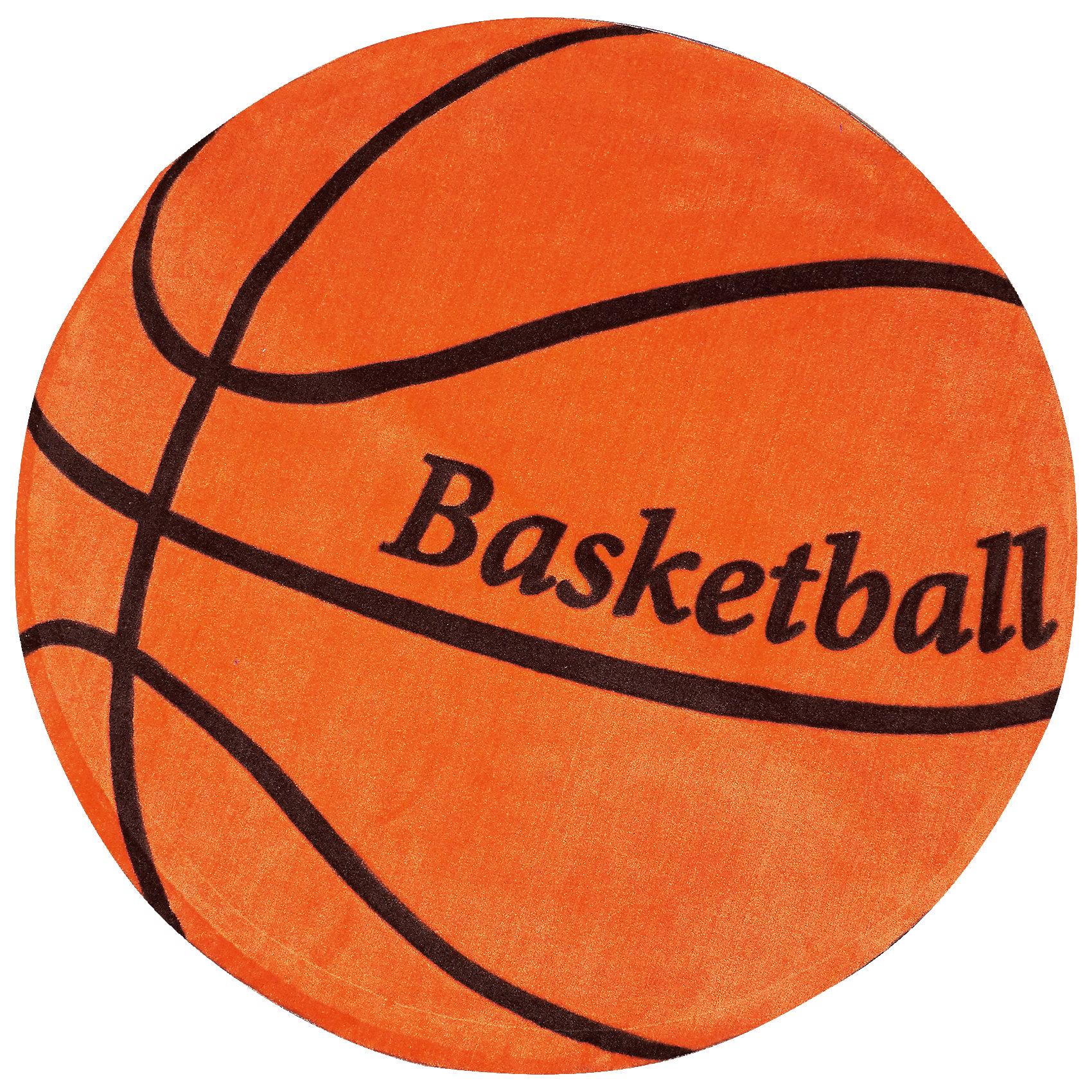 Ковер Баскетбол, диаметр 1,2 мЯркий ковер, выполненный в виде баскетбольного мяча, прекрасно впишется в интерьер детской и приведет в восторг любого ребенка. Ковер изготовлен из акриловой пряжи, он очень мягкий на ощупь, гипоаллергенный, легко чистится, мало весит, прекрасно сохраняет тепло. Края изделия аккуратно и надежно обработаны. Подложка выполнена из текстильного материала - полихлопка (хлопок и полиэстер в соотношении 80/20). Полихлопок обладает высокой степенью износостойкости и в то же время достаточно мягок, чтобы не наносить повреждения на ламинированные и паркетные полы.<br><br>Дополнительная информация:<br><br>- Материал: акрил, полихлопок. <br>- Размер: d - 1,2.<br>- Цвет: черный, оранжевый.<br>- Отличная теплопроводность. <br>- Антистатичность. <br>- Цветостойкость: долго сохраняет яркость цвета. <br><br>Ковер Баскетбол, диаметр 1,2 м, можно купить в нашем магазине.<br><br>Ширина мм: 1200<br>Глубина мм: 120<br>Высота мм: 120<br>Вес г: 2680<br>Возраст от месяцев: -2147483648<br>Возраст до месяцев: 2147483647<br>Пол: Унисекс<br>Возраст: Детский<br>SKU: 4537008