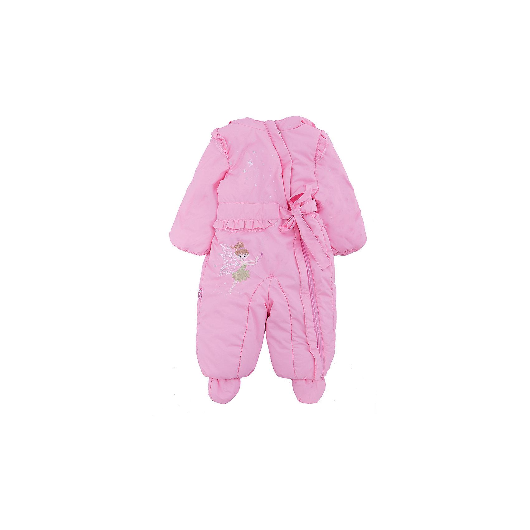 Комбинезон для девочки АртельВерхняя одежда<br>Комбинезон для девочки от торговой марки Артель &#13;<br>&#13;<br>Симпатичный розовый комбинезон создан специально для девочек. Изделие выполнено из качественных материалов, имеет удобные карманы и капюшон. Отличный вариант для переменной погоды межсезонья!&#13;<br>Одежда от бренда Артель – это высокое качество по приемлемой цене и всегда продуманный дизайн. &#13;<br>&#13;<br>Особенности модели: &#13;<br>- цвет - розовый;&#13;<br>- украшен вышивкой;&#13;<br>- наличие капюшона;&#13;<br>- утеплитель;&#13;<br>- отделка бантом и крыльями;&#13;<br>- застежка-молния.&#13;<br>&#13;<br>Дополнительная информация:&#13;<br>&#13;<br>Состав: &#13;<br>- верх: DewspoFD;<br>- подкладка: хлопок интерлок;<br>- утеплитель: TermoFinn 100 г.<br><br>&#13;<br>Температурный режим: &#13;<br>от -10 °C до + 10 °C&#13;<br>&#13;<br>Комбинезон для девочки Артель (Artel) можно купить в нашем магазине.<br><br>Ширина мм: 356<br>Глубина мм: 10<br>Высота мм: 245<br>Вес г: 519<br>Цвет: розовый<br>Возраст от месяцев: 6<br>Возраст до месяцев: 9<br>Пол: Женский<br>Возраст: Детский<br>Размер: 74,80,68<br>SKU: 4537226