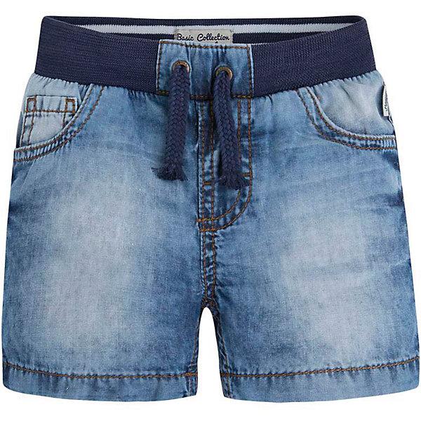 Шорты джинсовые для мальчика MayoralШорты и бриджи<br>Бриджи для мальчика от известной испанской марки Mayoral выполнены в практичной цветовой гамме, займут достойное место в летнем гардеробе ребенка.<br><br>Дополнительная информация:<br><br>- Практичная расцветка, мягкая ткань. <br>- Прямой крой брючин.<br>- 5 классических карманов.<br>- На эластичном поясе с кулиской. <br>- Декоративная прострочка на задних карманах. <br>- Состав: 100% хлопок.<br><br>Бриджи  для мальчика Mayoral (Майорал) можно купить в нашем магазине.<br><br>Ширина мм: 191<br>Глубина мм: 10<br>Высота мм: 175<br>Вес г: 273<br>Цвет: синий<br>Возраст от месяцев: 6<br>Возраст до месяцев: 9<br>Пол: Мужской<br>Возраст: Детский<br>Размер: 74,80,86,92<br>SKU: 4537492