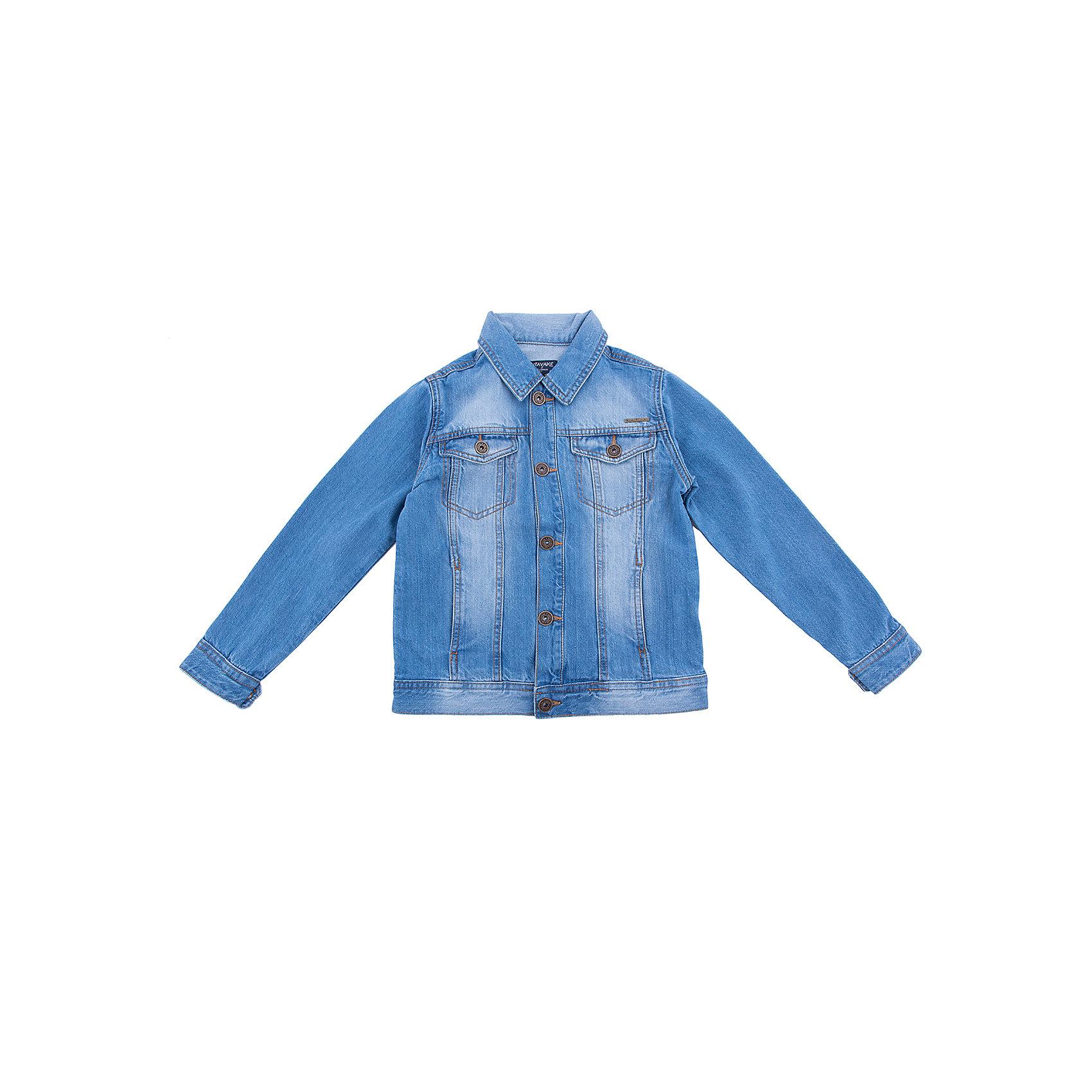 Куртка  для мальчика MayoralКуртка для мальчика от известной испанской марки Mayoral<br><br>Стильная джинсовая куртка от Mayoral очень оригинально и стильно смотрится. Она прекрасно сочетается с различным низом. <br>Модель выполнена из качественных материалов, отлично садится по фигуре. Станет универсальным верхом для весенне-летнего сезона!<br><br>Особенности модели:<br><br>- цвет: голубой;<br>- рукава длинные;<br>- пуговицы болты;<br>- отложной воротник;<br>- декорирована потертостями;<br>- карманы на груди.<br><br>Дополнительная информация:<br><br>Состав: 100% хлопок<br><br>Куртку для мальчика Mayoral (Майорал) можно купить в нашем магазине.<br><br>Ширина мм: 356<br>Глубина мм: 10<br>Высота мм: 245<br>Вес г: 519<br>Цвет: голубой<br>Возраст от месяцев: 132<br>Возраст до месяцев: 144<br>Пол: Мужской<br>Возраст: Детский<br>Размер: 152,140,128,158,164<br>SKU: 4537523
