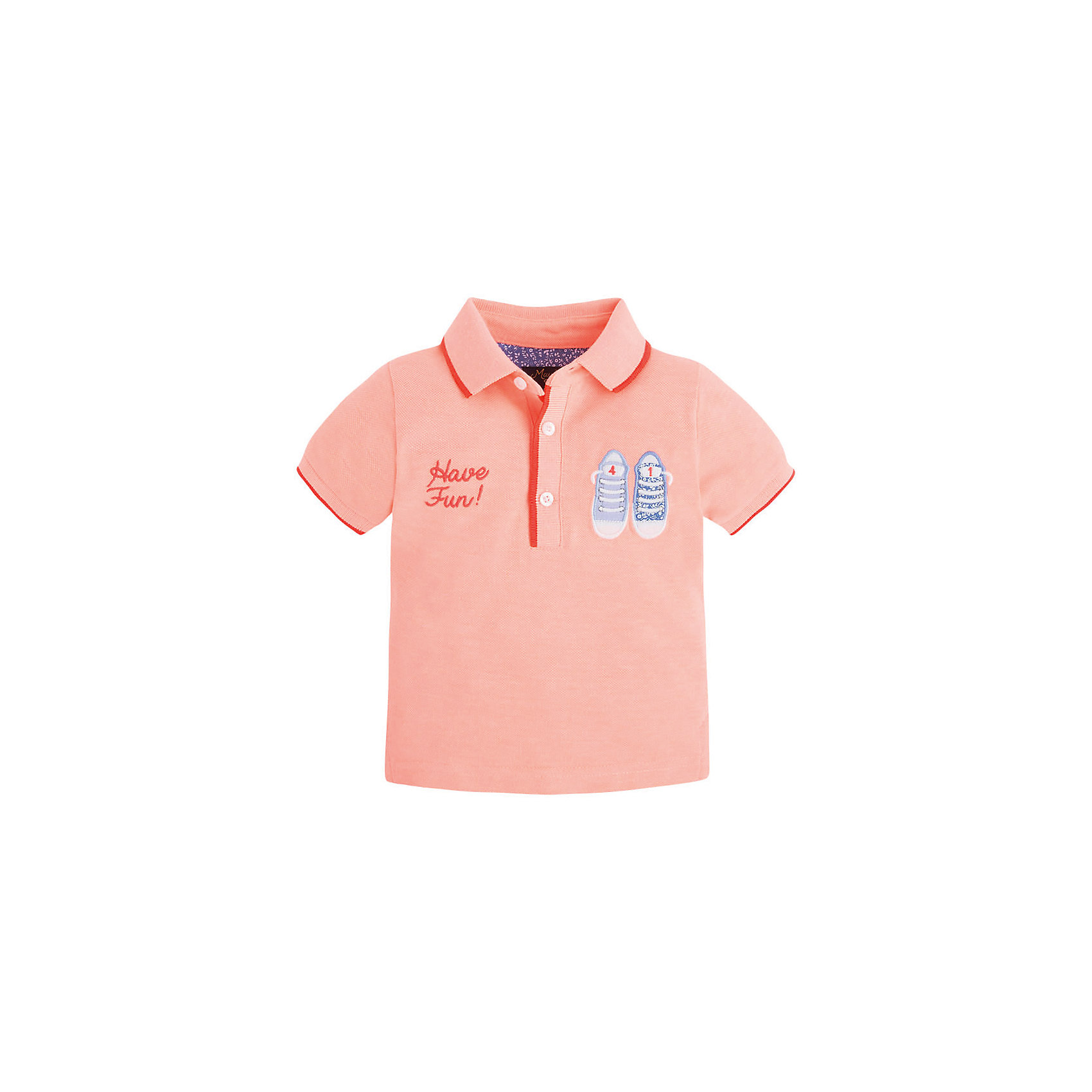 Mayoral Рубашка-поло для мальчика Mayoral
