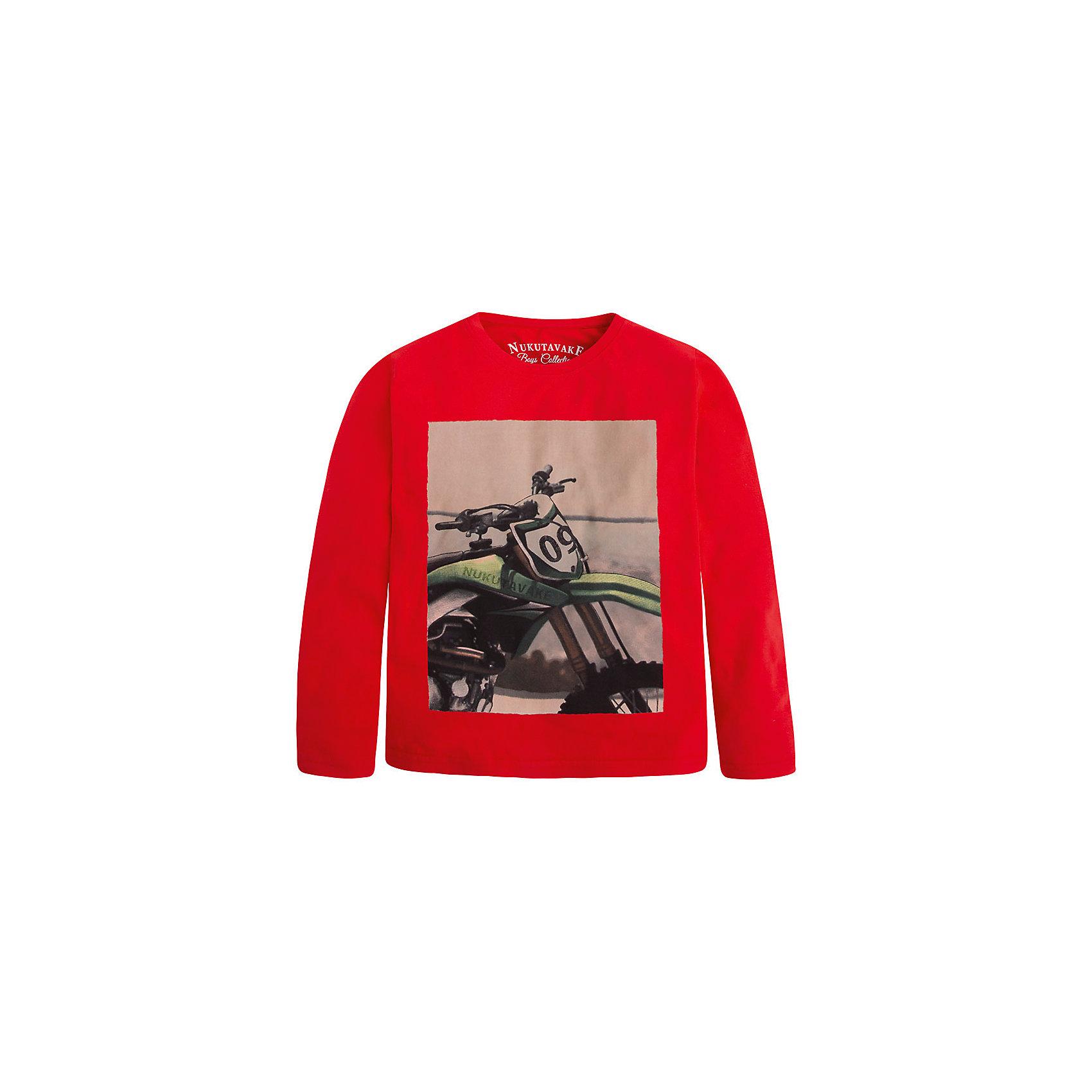 Mayoral Футболка с длинным рукавом для мальчика Mayoral футболка с длинным рукавом для мальчика barkito трактор красная