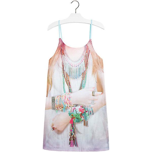 Платье для девочки MayoralПлатья и сарафаны<br>Платье для девочки от известной испанской марки Mayoral - идеальный вариант для жаркой погоды. <br><br>Дополнительная информация:<br><br>- На тонких регулируемых бретелях.<br>- Оригинальный принт спереди.<br>- Оборки на спине. <br>- Состав: 97% полиэстер, 3% эластан.<br><br>Платье для девочки Mayoral (Майорал) можно купить в нашем магазине.<br><br>Ширина мм: 236<br>Глубина мм: 16<br>Высота мм: 184<br>Вес г: 177<br>Цвет: голубой<br>Возраст от месяцев: 108<br>Возраст до месяцев: 120<br>Пол: Женский<br>Возраст: Детский<br>Размер: 140,170,128,158,152,164<br>SKU: 4538908
