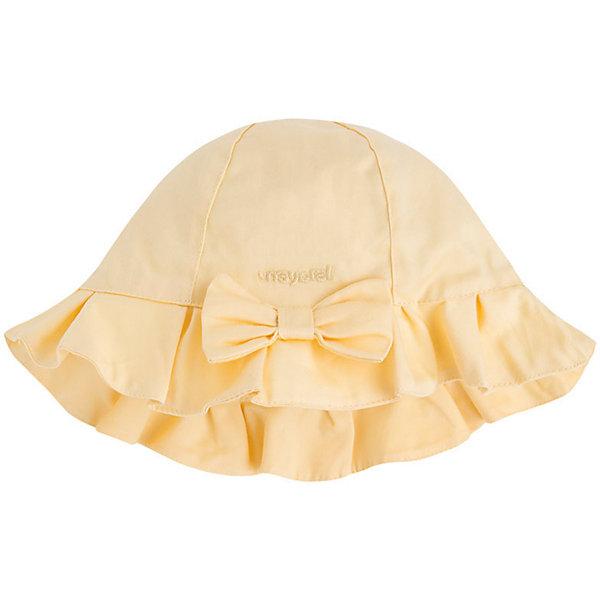 Панама для девочки MayoralШапочки<br>Панама для девочки от известной испанской марки Mayoral убережет голову ребенка от ярких солнечных лучей и  добавит образу юной модницы очарование и шарм.<br><br>Дополнительная информация:<br><br>- Декоративный бант спереди.<br>- Вышивка с логотипом бренда. <br>- Состав: верх - 100% хлопок; подкладка - 65% полиэстер, 35% хлопок. <br><br>Панаму для девочки Mayoral (Майорал) можно купить в нашем магазине.<br>Ширина мм: 89; Глубина мм: 117; Высота мм: 44; Вес г: 155; Цвет: желтый; Возраст от месяцев: 24; Возраст до месяцев: 36; Пол: Женский; Возраст: Детский; Размер: 50,46,48; SKU: 4539054;