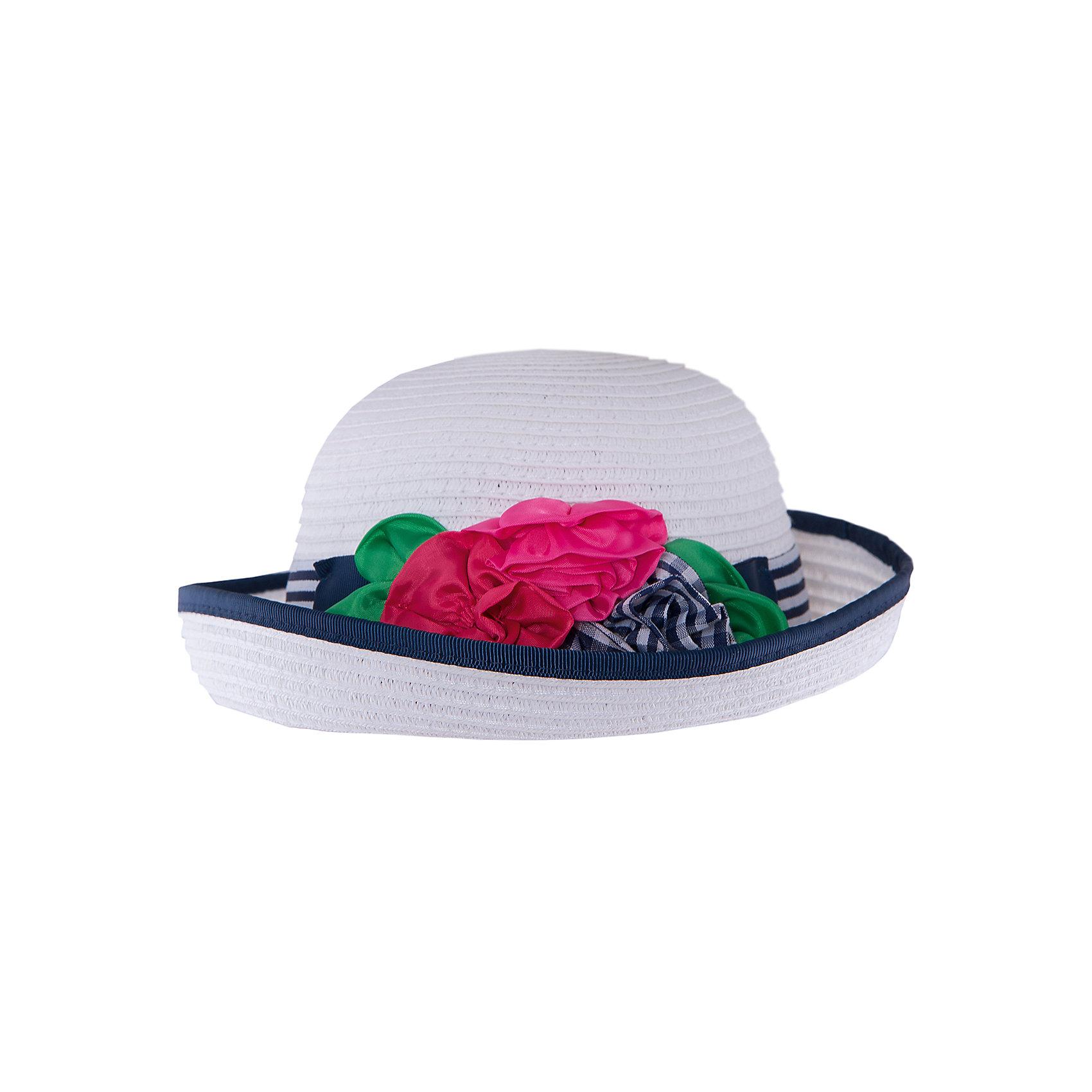 Шляпа для девочки MayoralШапочки<br>Шляпа для девочки от известной марки Mayoral<br><br>Удобная шляпа дополнит образ девочки и убережет голову от перегрева в новом весенне-летнем сезоне. Эта модель разработала специально для девочек. Сделана она из легкого, но прочного материала, украшена текстильными цветами.<br><br>Особенности модели:<br><br>- цвет: белый, синий;<br>- цветная окантовка;<br>- легкий материал;<br>- украшена окантовкой и лентой;<br>- декорирована цветами;<br>- глубокая посадка.<br><br>Дополнительная информация:<br><br>Состав: 100% бумага<br> <br>Шляпу для девочки от Mayoral (Майорал) можно купить в нашем магазине.<br><br>Ширина мм: 89<br>Глубина мм: 117<br>Высота мм: 44<br>Вес г: 155<br>Цвет: синий<br>Возраст от месяцев: 6<br>Возраст до месяцев: 9<br>Пол: Женский<br>Возраст: Детский<br>Размер: 46,50,48<br>SKU: 4539086
