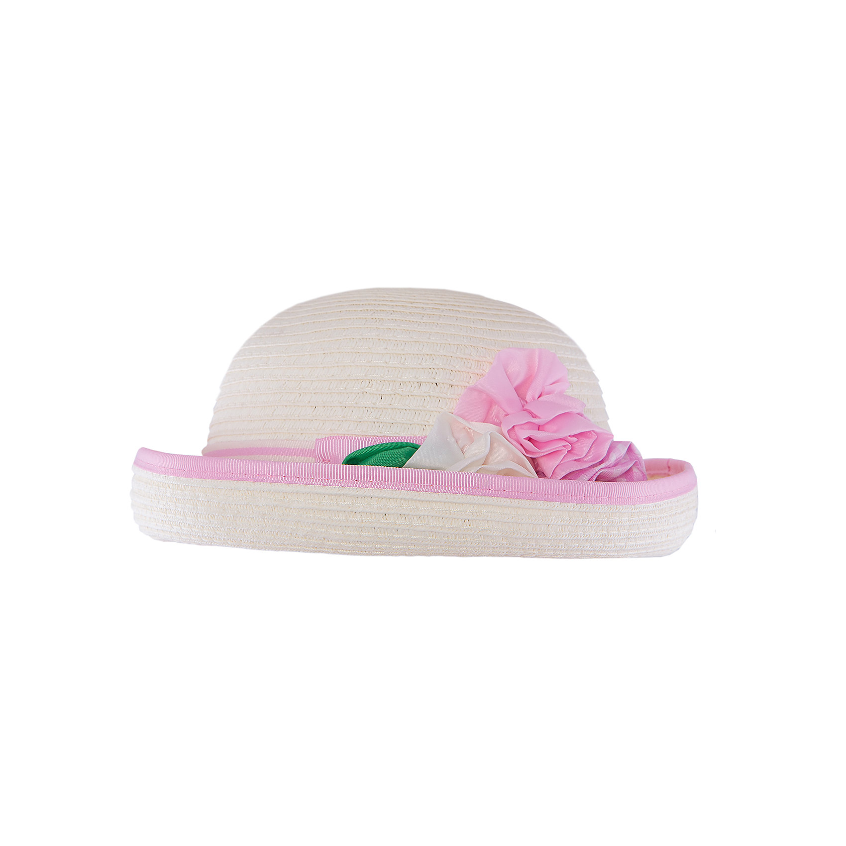 Шляпа для девочки MayoralШляпа для девочки от известной марки Mayoral<br><br>Удобная шляпа дополнит образ девочки и убережет голову от перегрева в новом весенне-летнем сезоне. Эта модель разработала специально для девочек. Сделана она из легкого, но прочного материала, украшена текстильными цветами.<br><br>Особенности модели:<br><br>- цвет: белый, розовый;<br>- цветная окантовка;<br>- легкий материал;<br>- украшена окантовкой и лентой;<br>- декорирована цветами;<br>- глубокая посадка.<br><br>Дополнительная информация:<br><br>Состав: 100% бумага<br> <br>Шляпу для девочки от Mayoral (Майорал) можно купить в нашем магазине.<br><br>Ширина мм: 89<br>Глубина мм: 117<br>Высота мм: 44<br>Вес г: 155<br>Цвет: розовый<br>Возраст от месяцев: 24<br>Возраст до месяцев: 36<br>Пол: Женский<br>Возраст: Детский<br>Размер: 50,46,48<br>SKU: 4539094