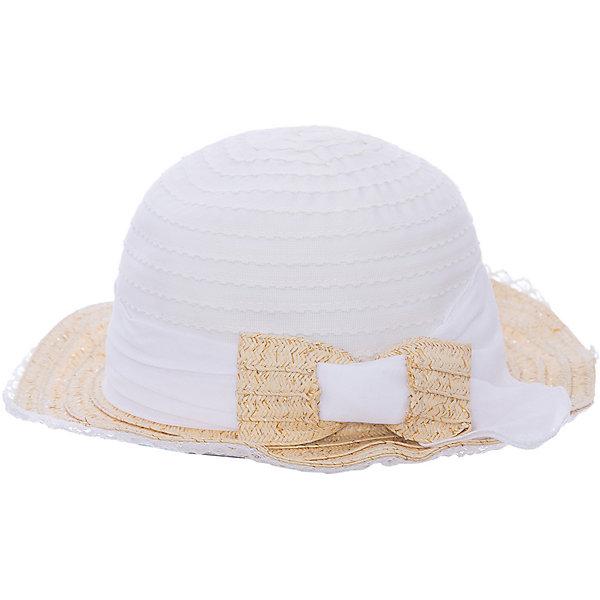 Шляпа для девочки MayoralГоловные уборы<br>Шляпа для девочки от известной марки Mayoral<br><br>Удобная шляпа дополнит образ девочки и убережет голову от перегрева в новом весенне-летнем сезоне. Эта модель разработала специально для девочек. Сделана она из легкого, но прочного материала, украшена бантом.<br><br>Особенности модели:<br><br>- цвет: белый;<br>- украшена бантом;<br>- легкий материал;<br>- классическая форма;<br>- отделана кружевом;<br>- глубокая посадка.<br><br>Дополнительная информация:<br><br>Состав: 50% бумага, 30% полиэстер, 20% хлопок<br> <br>Шляпу для девочки от Mayoral (Майорал) можно купить в нашем магазине.<br><br>Ширина мм: 89<br>Глубина мм: 117<br>Высота мм: 44<br>Вес г: 155<br>Цвет: бежевый<br>Возраст от месяцев: 24<br>Возраст до месяцев: 36<br>Пол: Женский<br>Возраст: Детский<br>Размер: 50,54,52<br>SKU: 4539267