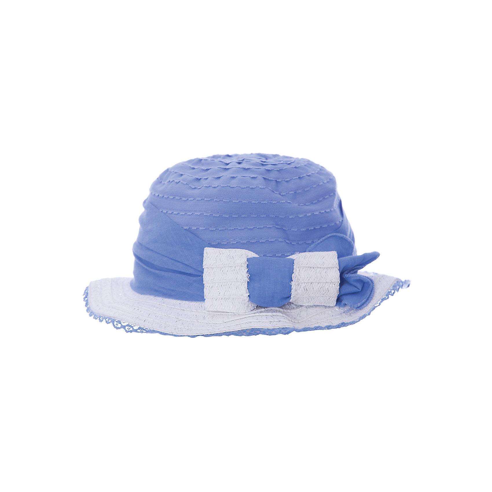 Шляпа для девочки MayoralГоловные уборы<br>Шляпа для девочки от известной испанской марки Mayoral.<br>Состав:<br>50% Бумага 30% Полиэстер 20% Хлопок<br><br>Ширина мм: 89<br>Глубина мм: 117<br>Высота мм: 44<br>Вес г: 155<br>Цвет: синий<br>Возраст от месяцев: 24<br>Возраст до месяцев: 36<br>Пол: Женский<br>Возраст: Детский<br>Размер: 50,54,52<br>SKU: 4539275