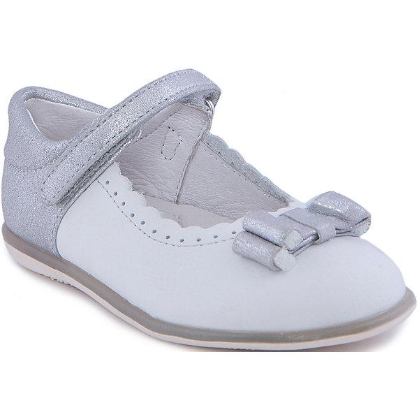 Туфли для девочки MayoralТуфли<br>Стильные туфли от известной испанской марки Mayoral приведут в восторг всех юных модниц! <br><br>Дополнительная информация:<br><br>- Стильный дизайн. <br>- Рифленая подошва.<br>- Застегиваются на липучку.<br>- Вставки и серебряной кожи на ремешке и пятке.<br>- Украшены бантиком и металлическим сердцем. <br>- Декоративная перфорация. <br>- Состав: материал верха - 55% кожа, 45% замша; подкладка, стелька -  100% кожа; подошва - 100% синтетический материал. <br><br>Туфли Mayoral (Майорал) можно купить в нашем магазине.<br><br>Ширина мм: 227<br>Глубина мм: 145<br>Высота мм: 124<br>Вес г: 325<br>Цвет: серый<br>Возраст от месяцев: 18<br>Возраст до месяцев: 21<br>Пол: Женский<br>Возраст: Детский<br>Размер: 21,22,26,24,25,23,27<br>SKU: 4539349